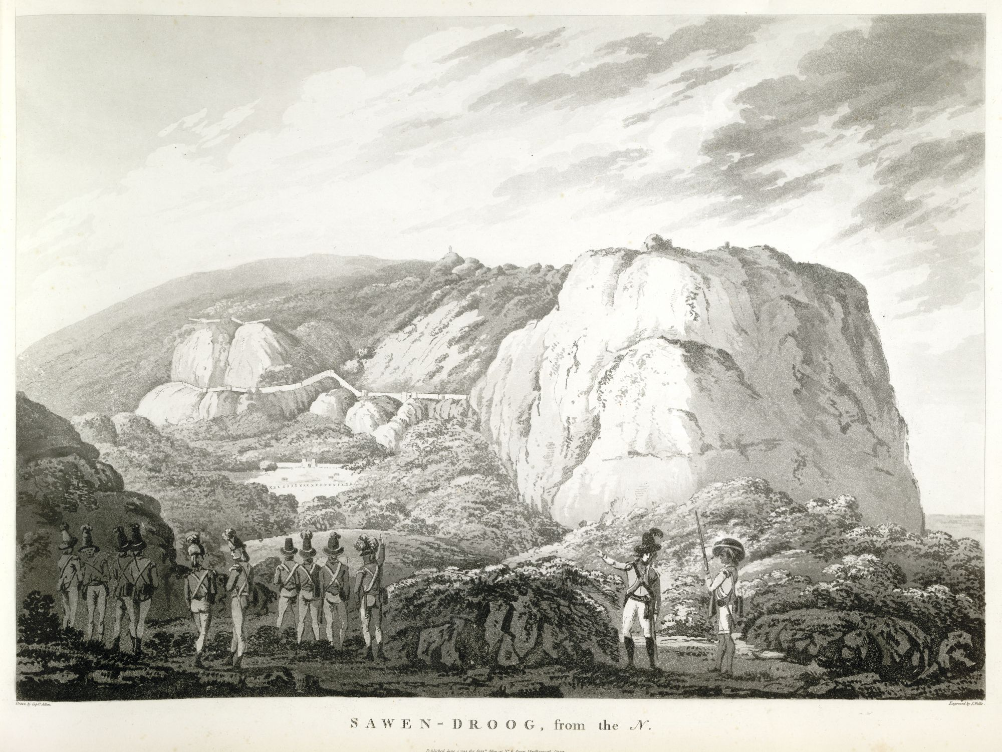Sawen-Droog, from the N[orth], by John Wells after Alexander Allan.