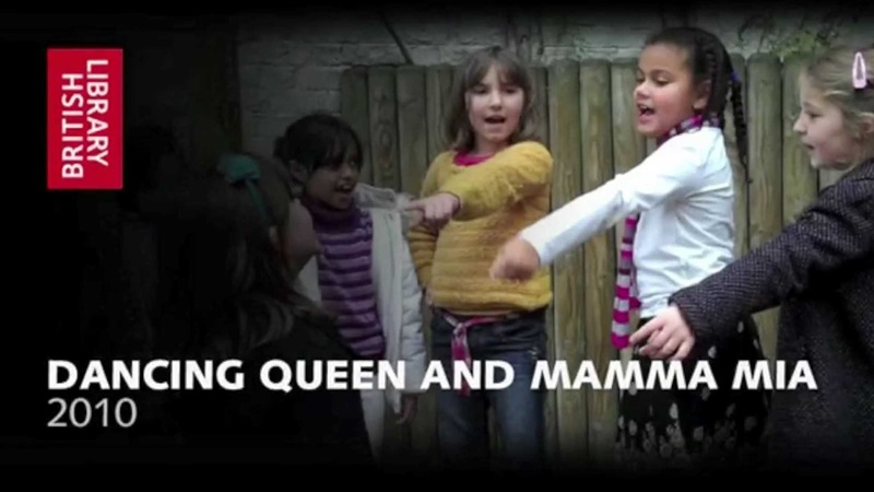 Contemporary film still of children dancing