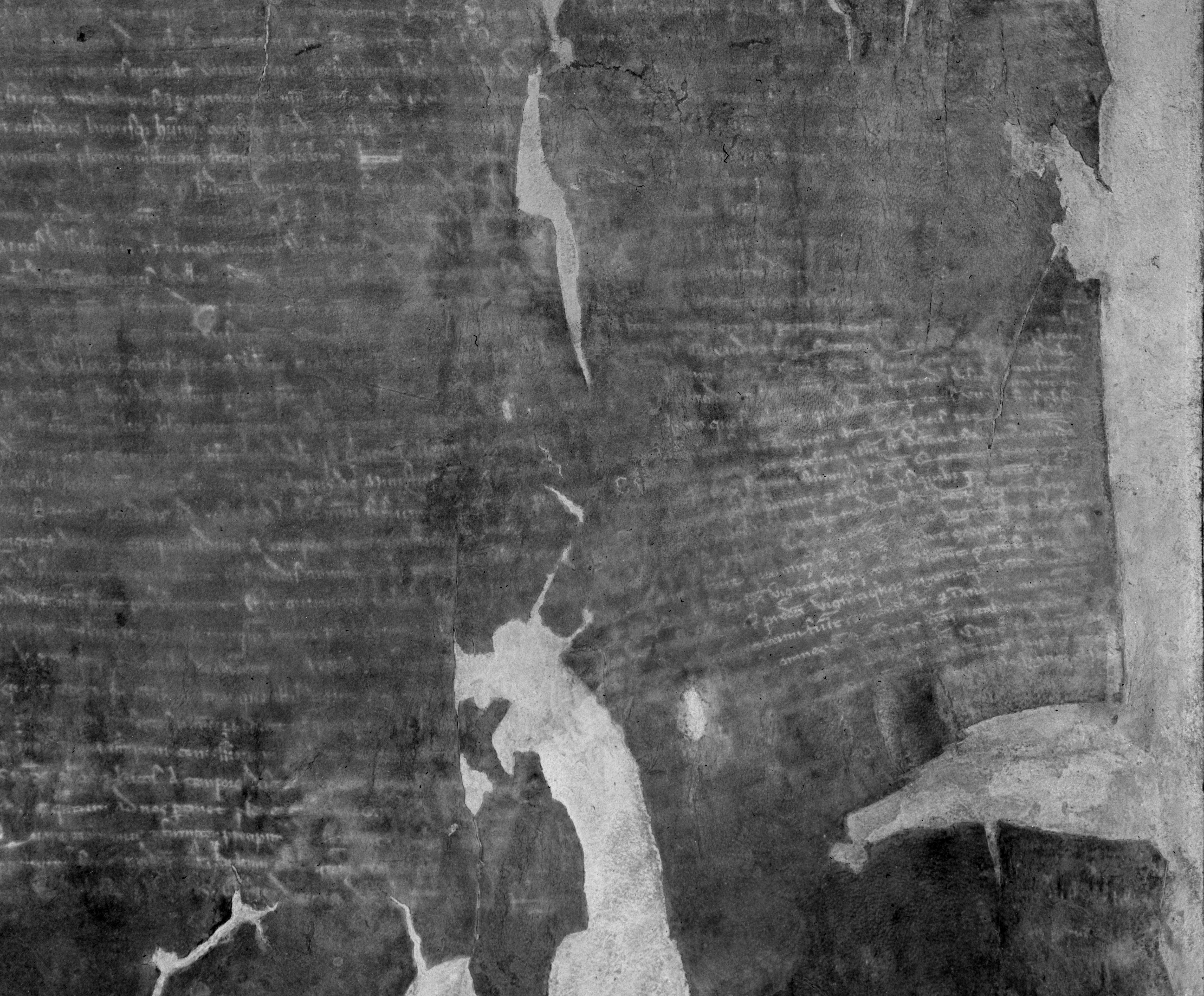 British Library damaged Magna Carta manuscript after multi-spectral analysis, showing the most legible image of the charter seen in nearly 200 years.