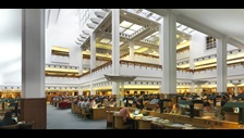 British Library Reading Room. Photo credit: Paul Grundy.