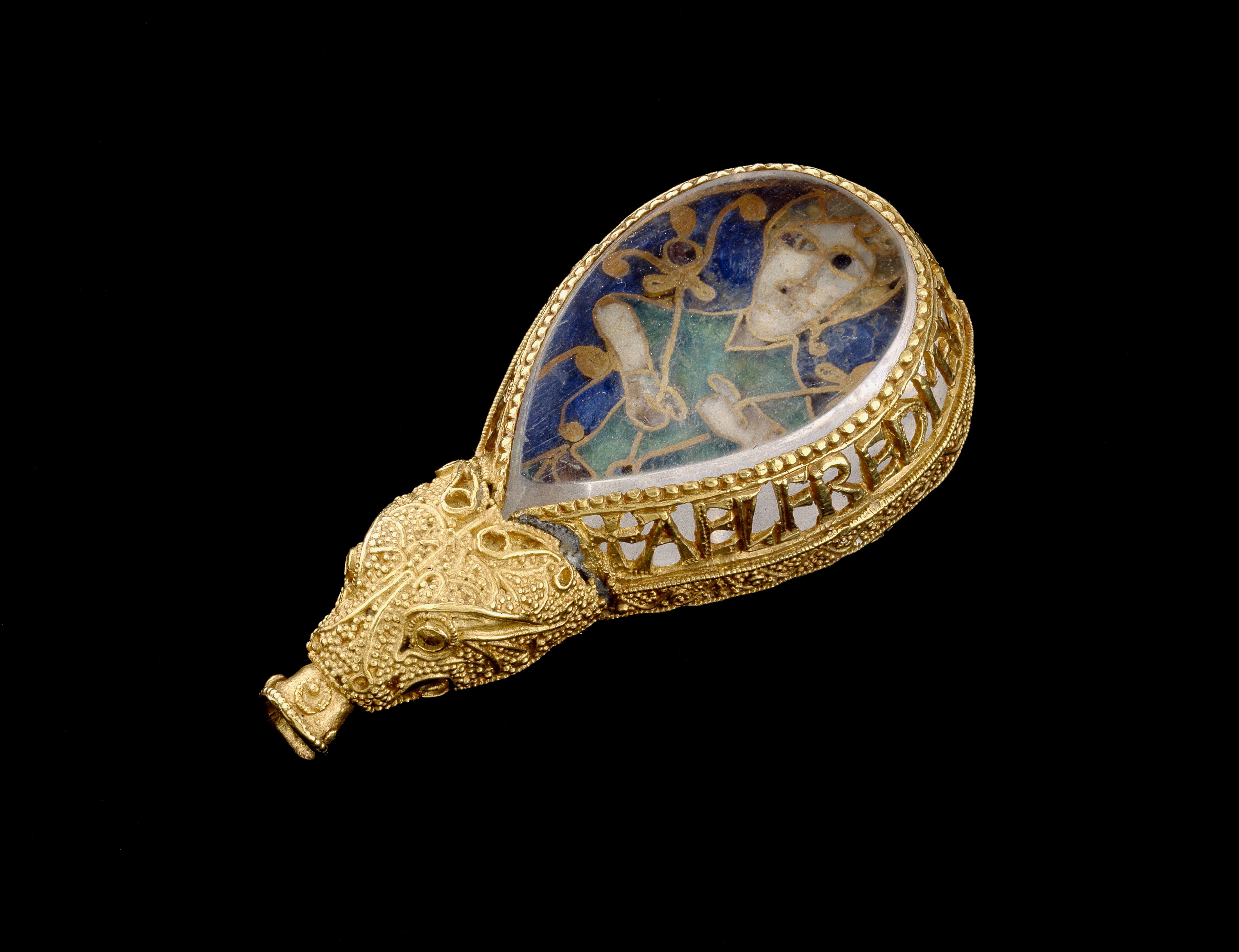 Alfred Jewel (c) Ashmolean Museum, University of Oxford