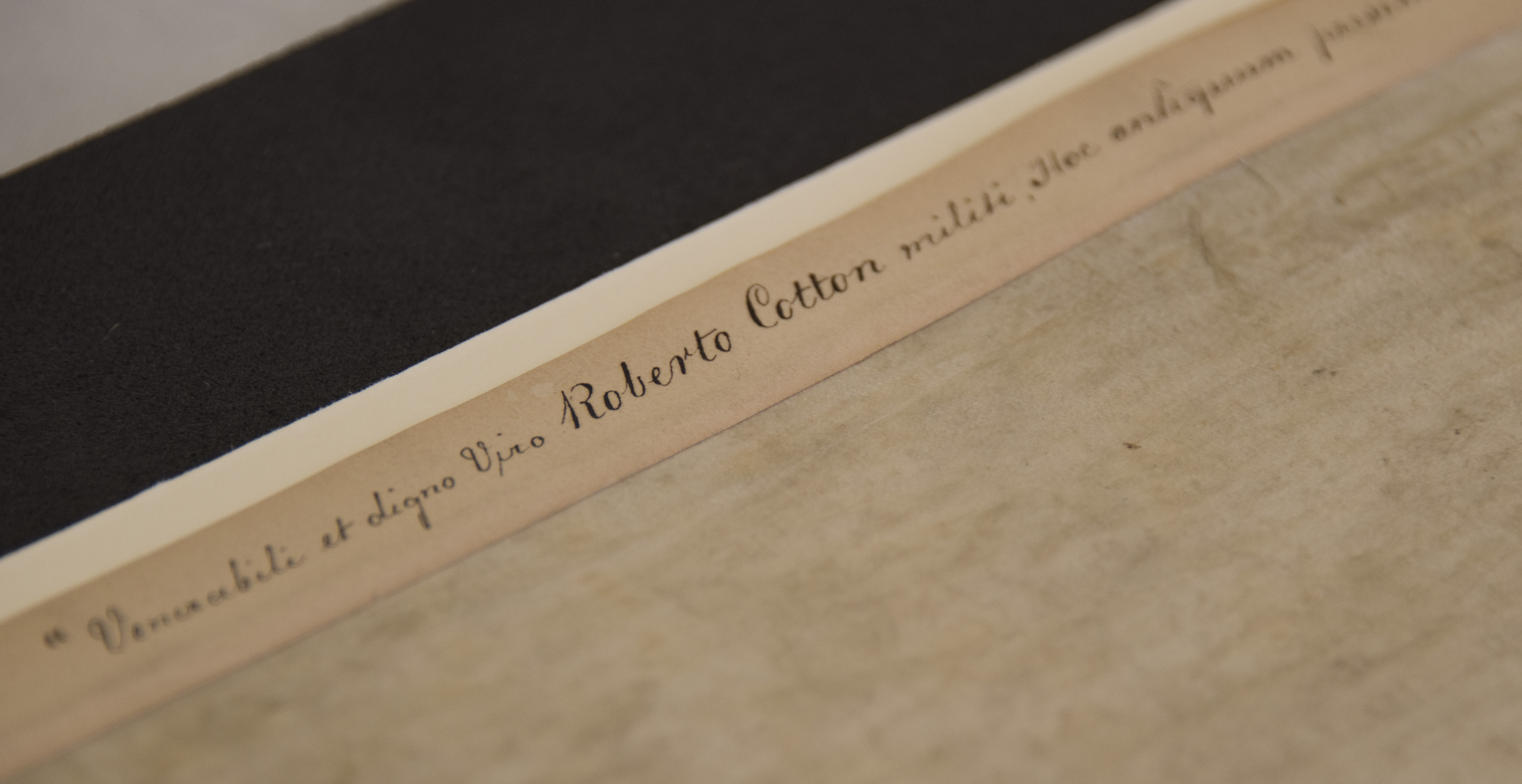 One of the British Library's Magna Carta manuscripts, which came into the national collection in 1753 as part of the vast private library of the MP and antiquary Sir Robert Cotton.