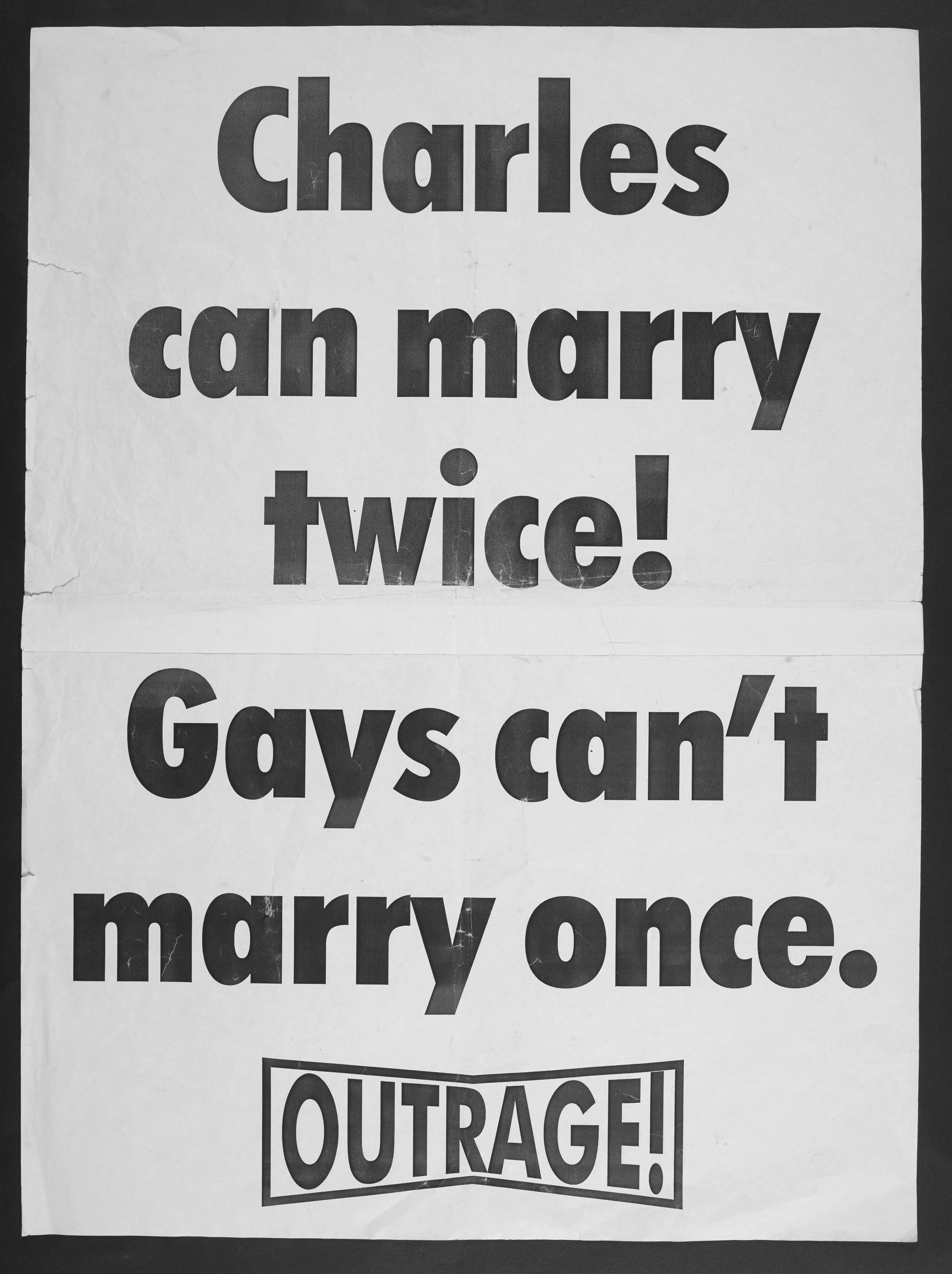 Outrage! poster (c) Peter Tatchell