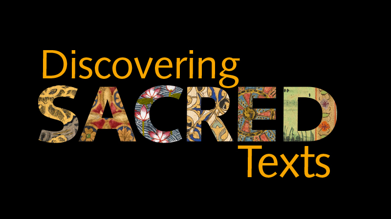 Discovering Sacred Texts. Copyright: British Library Board