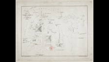 Plan of the Pyramids of Ghizeh and their vicinity By J.S. Perring 1837 c The British Library Board