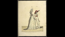 The Gallery of Fashion published by Nicolaus Heideloff 1761-1837 with its sumptuous colour plates on display in Georgians Revealed