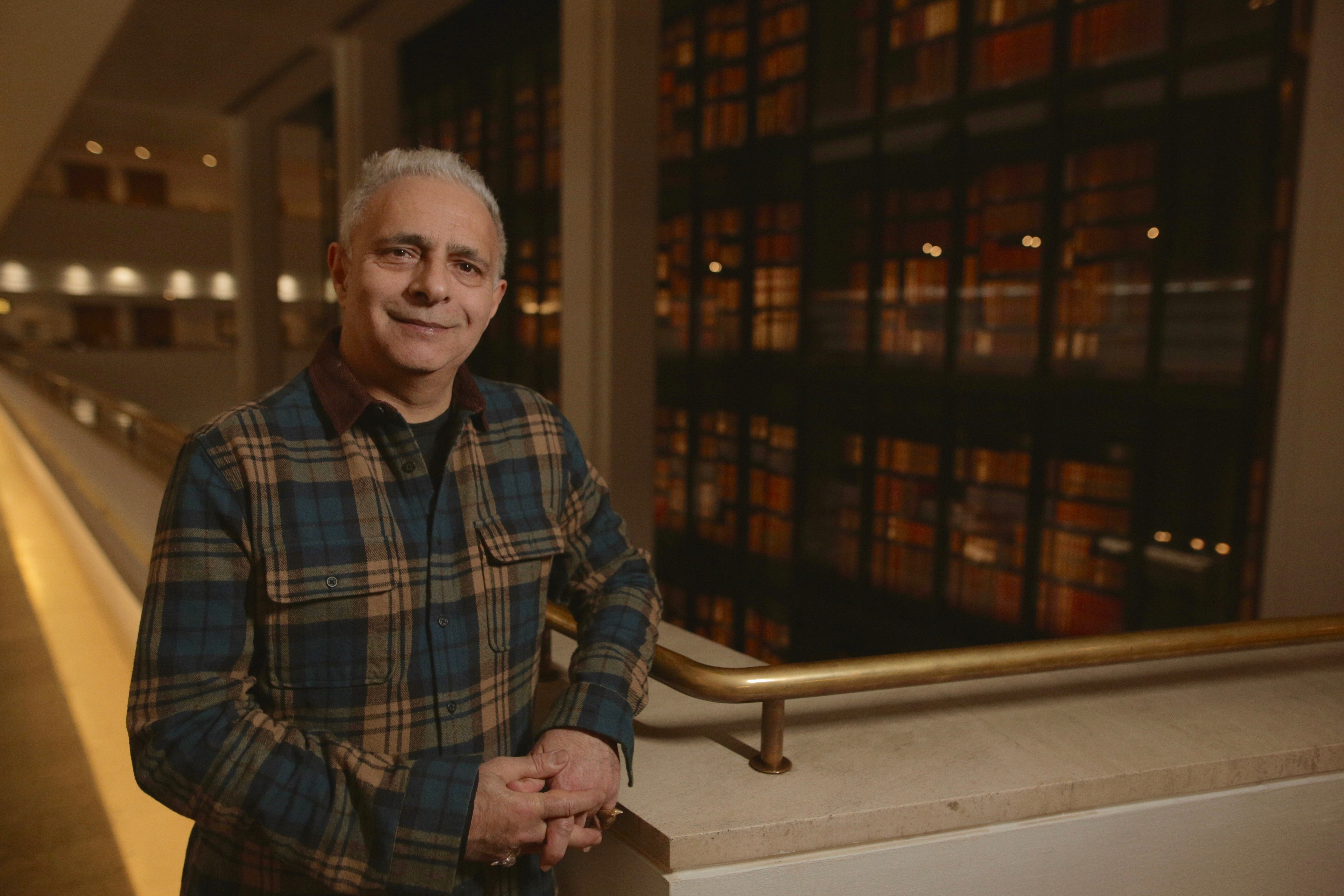 Hanif Kureishi at the British Library
