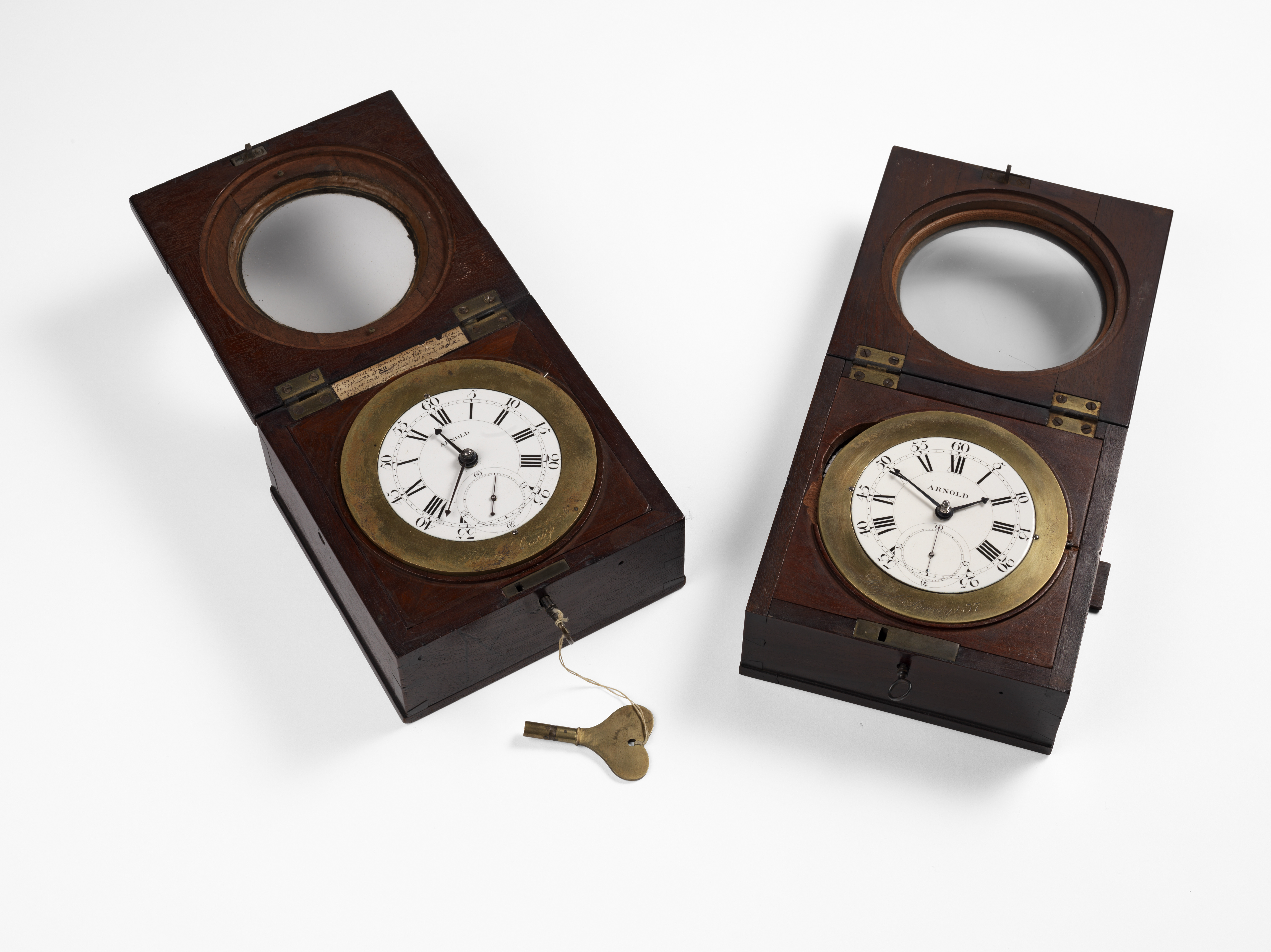 Copies of Harrison's chronometer made by John Arnold (c) Royal Society