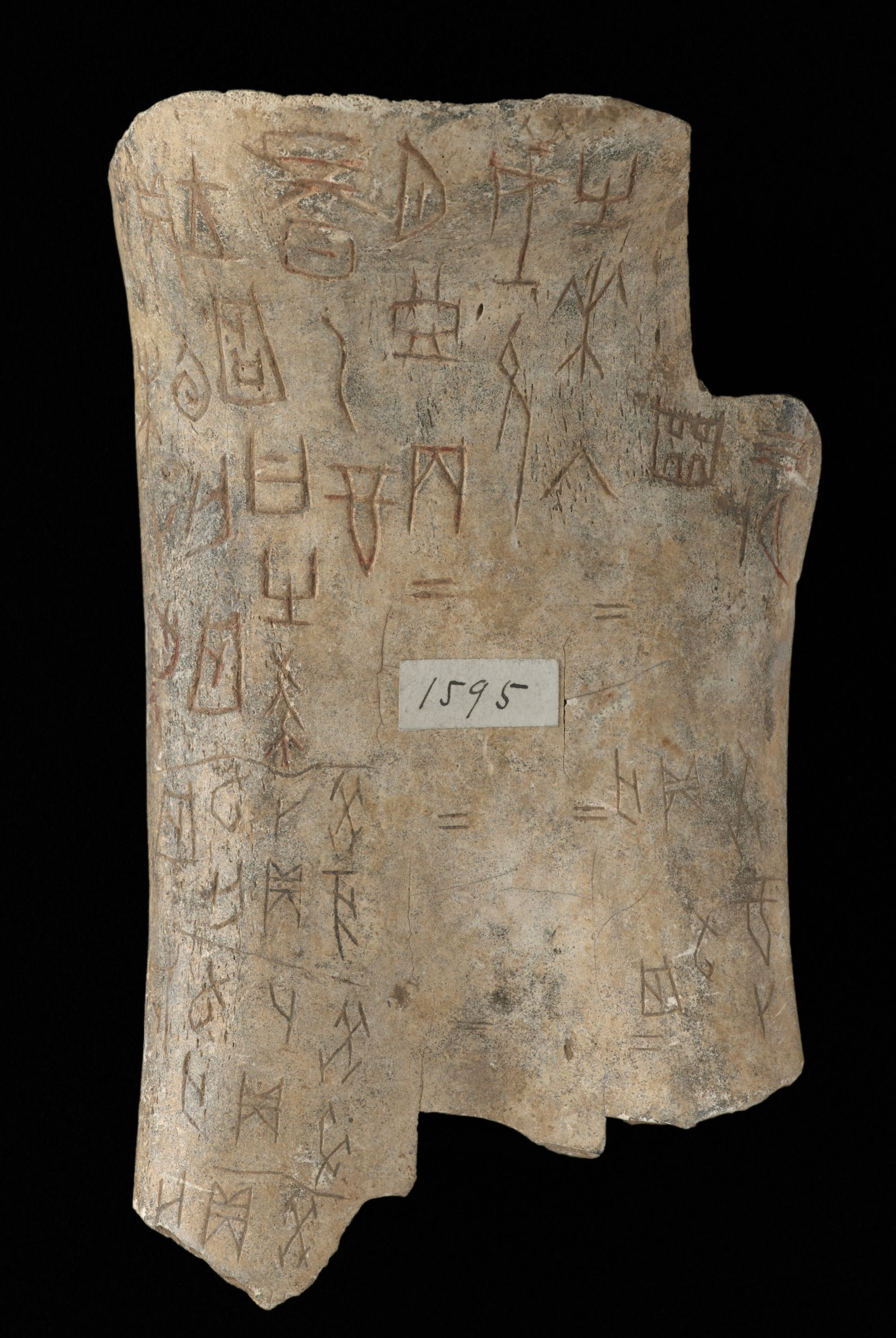 Chinese oracle bones (c) British Library Board