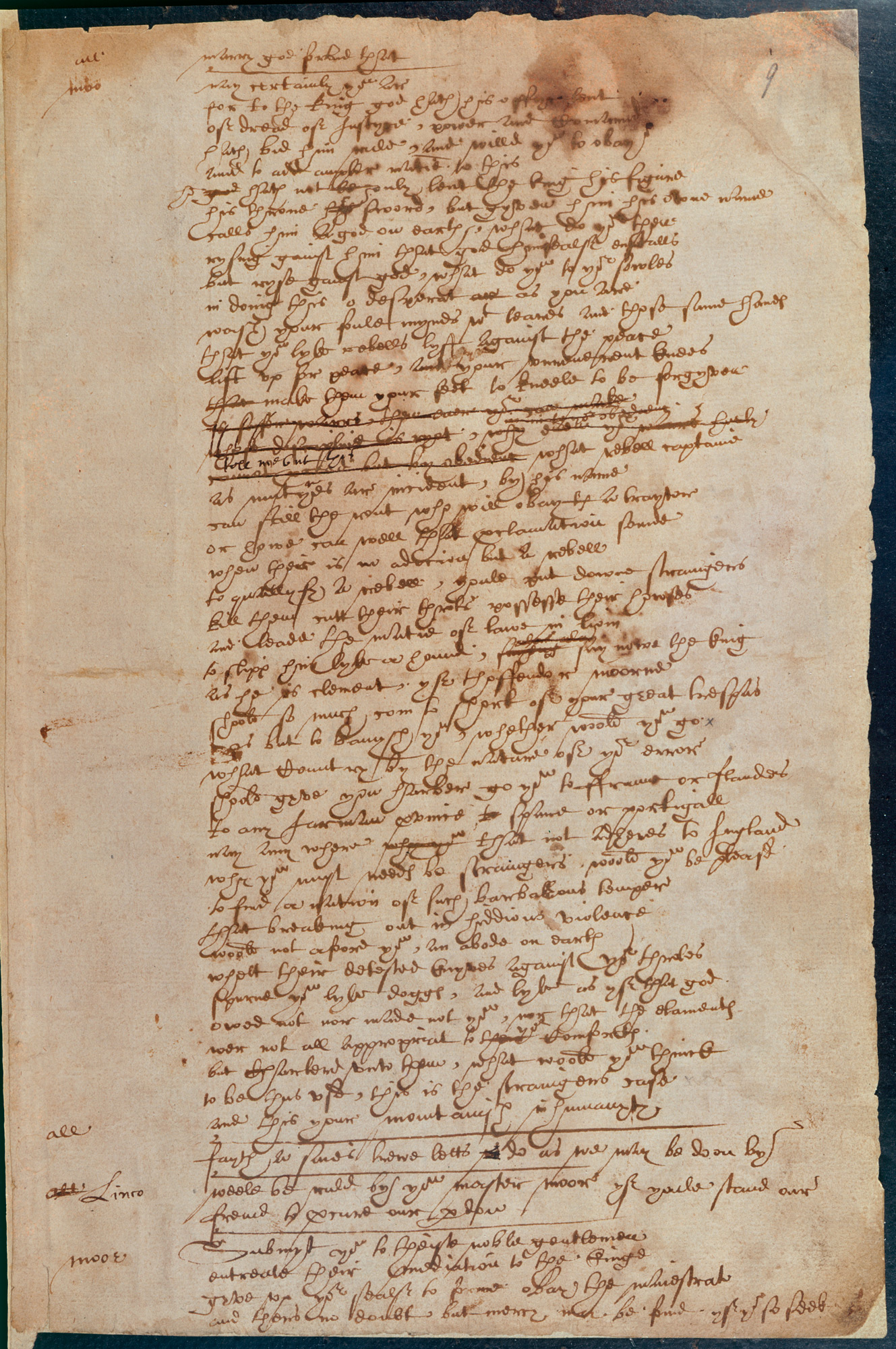 Shakespeare's handwriting in The Book of Sir Thomas More, The British Library