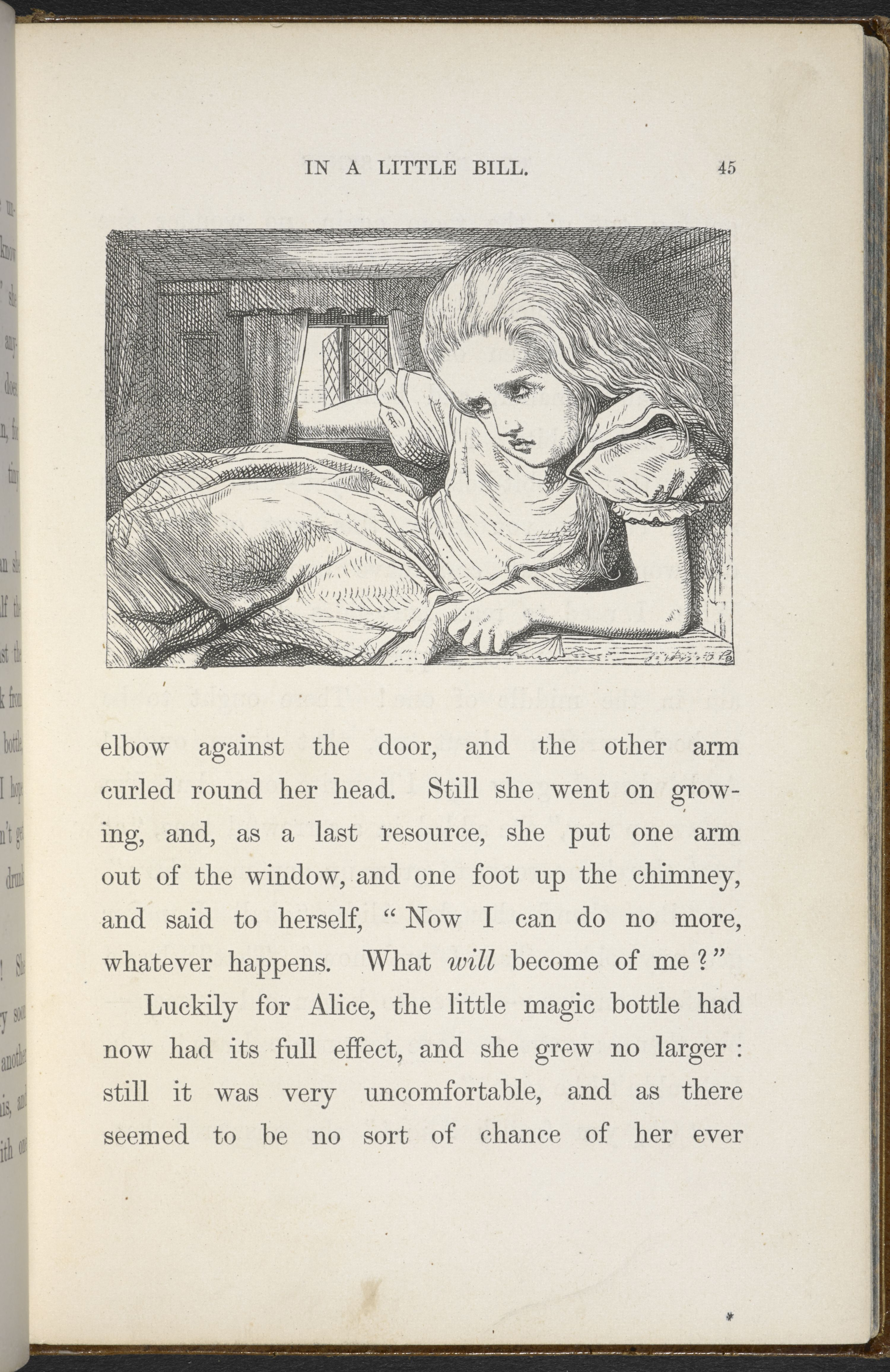 Illustration by John Tenniel from the first edition of Alice's Adventures in Wonderland (1865) Photography courtesy of the British Library
