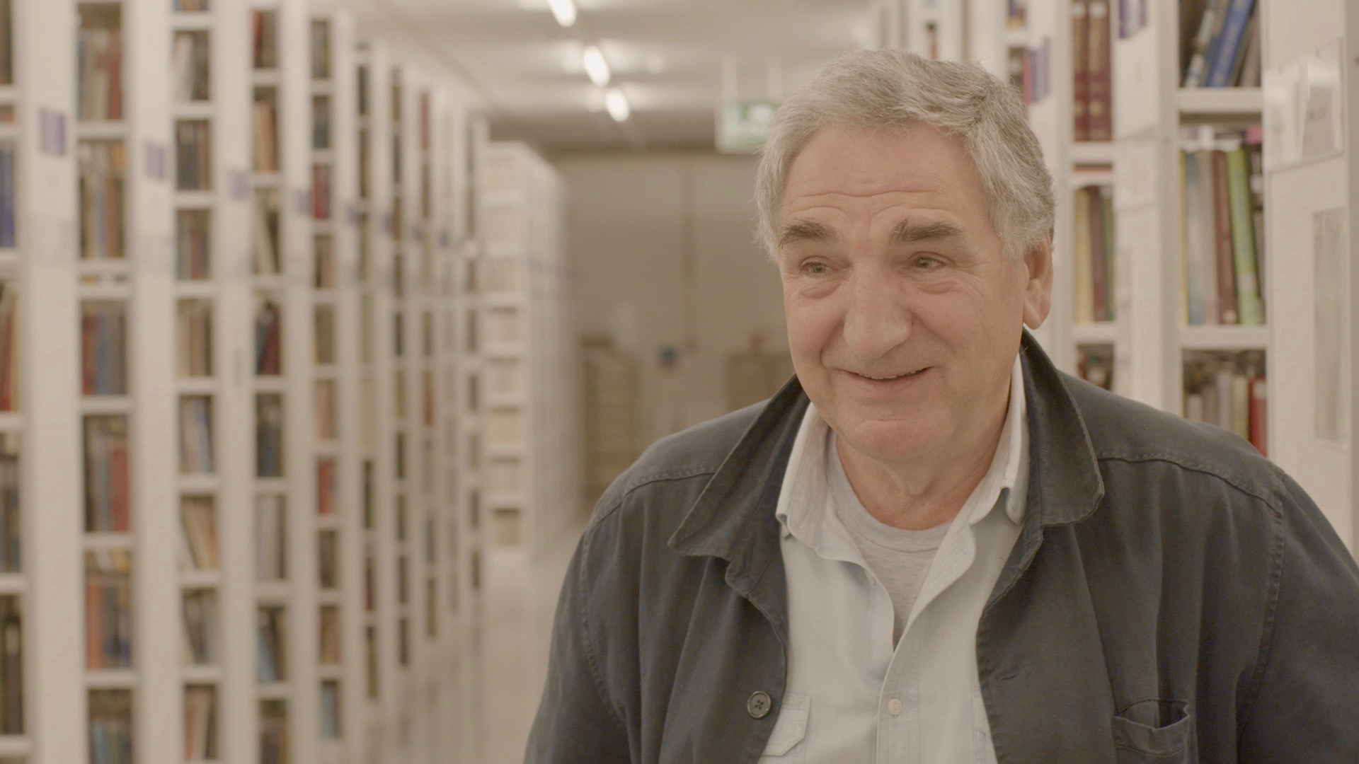 Jim Carter at the British Library