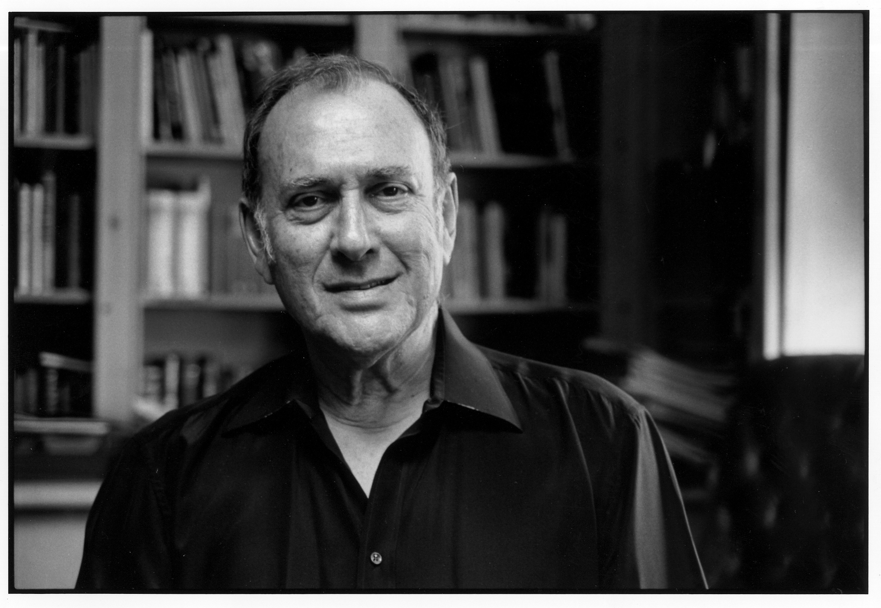 Later photograph of Harold Pinter taken by Martin Rosenbaum