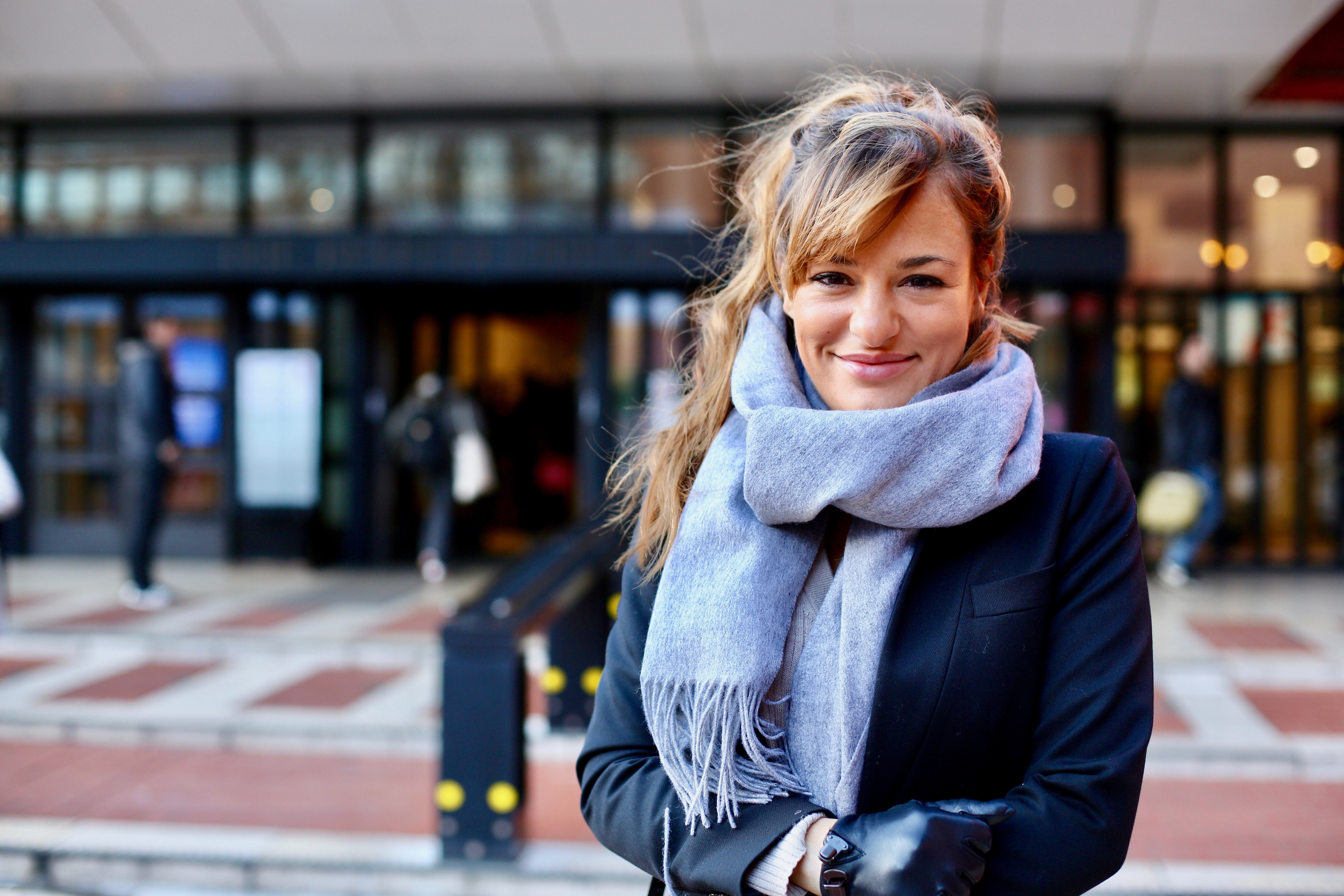 Nicola Benedetti at the British Library