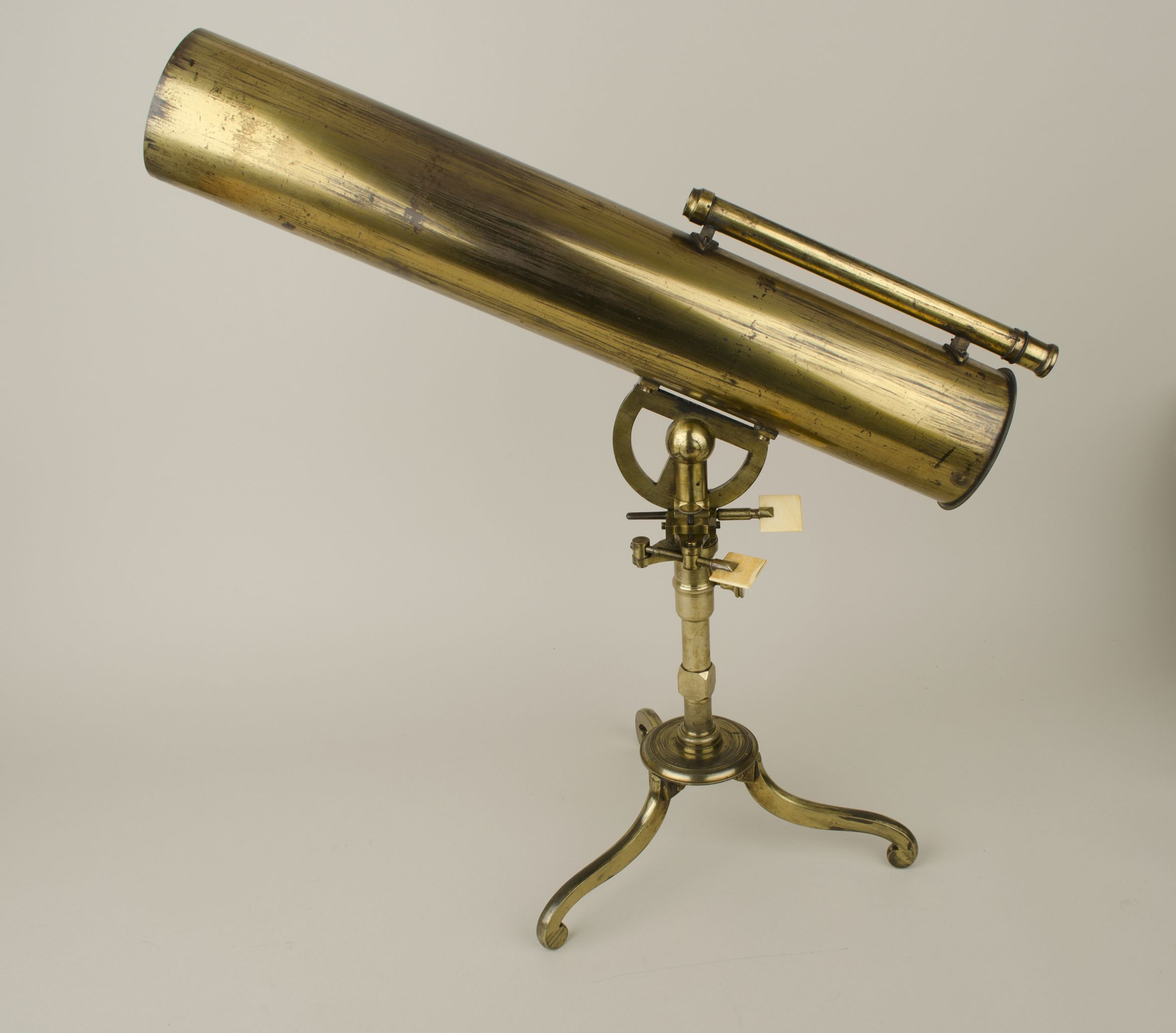 Reflecting telescope, James Short c.1770 (c) Whipple Museum of the History of Science, Cambridge