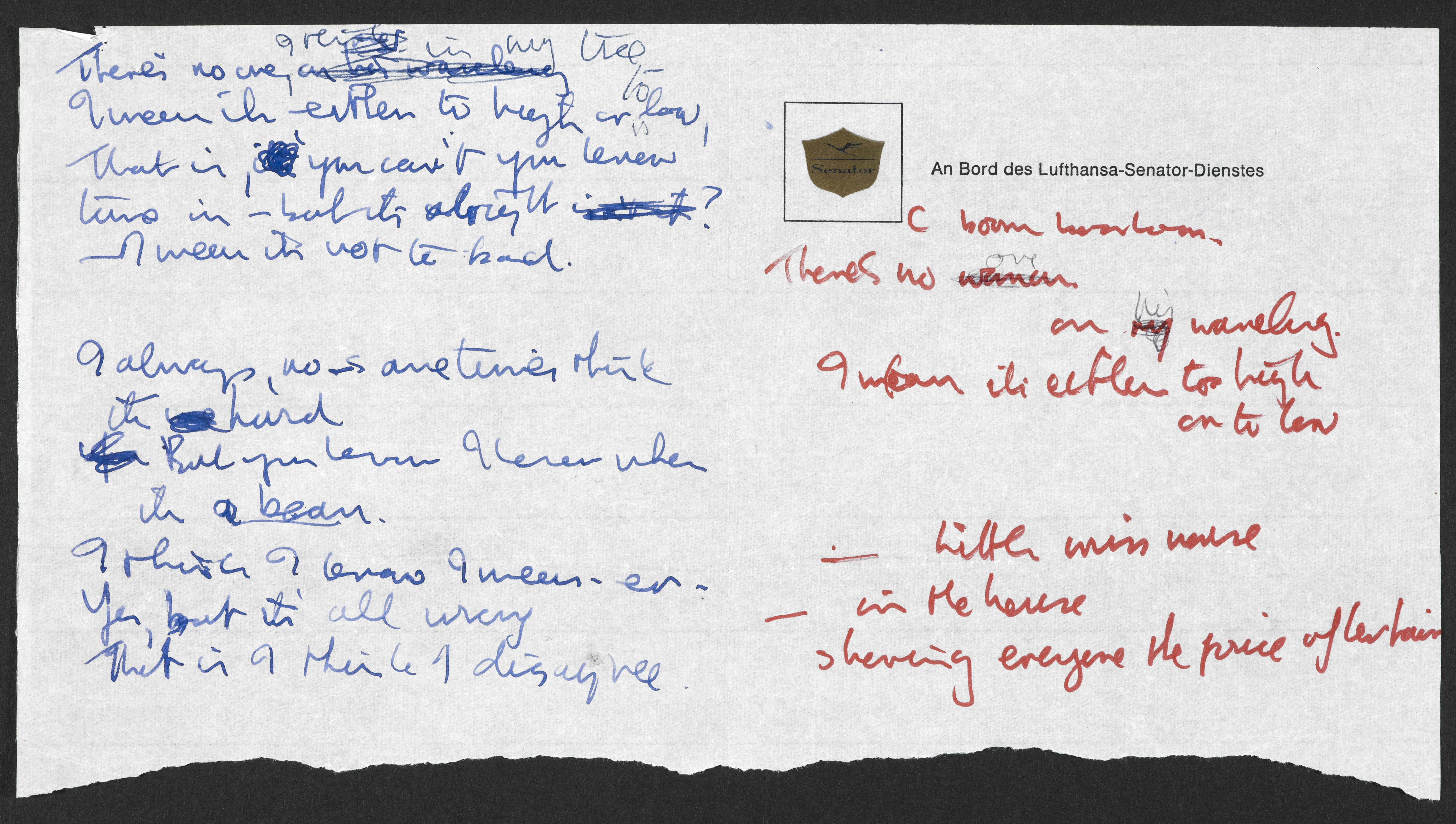 John Lennon Letters and Lyrics donated to the Nation British Library ...