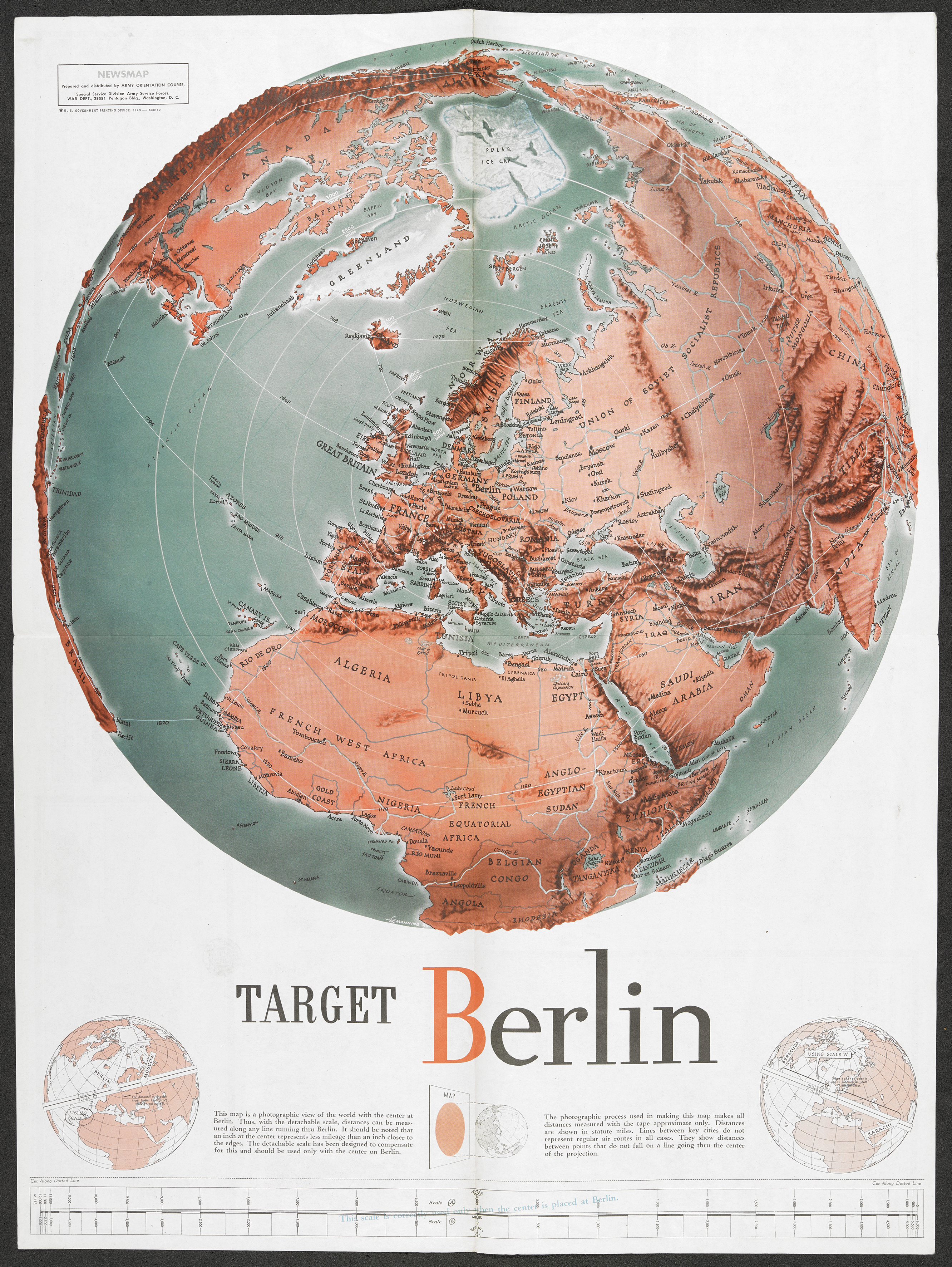 Target Berlin, 1943. Copyright British Library.