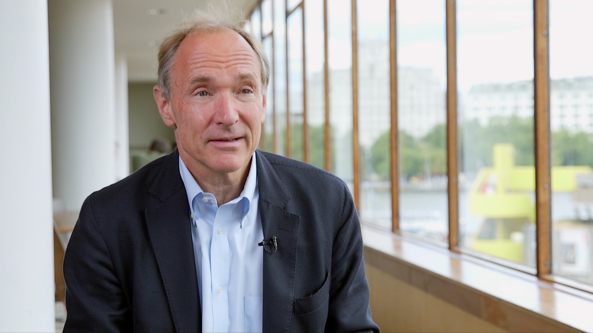 Sir Tim Berners-Lee speaks in a video for the British Library's project, Magna Carta: My Digital Rights.
