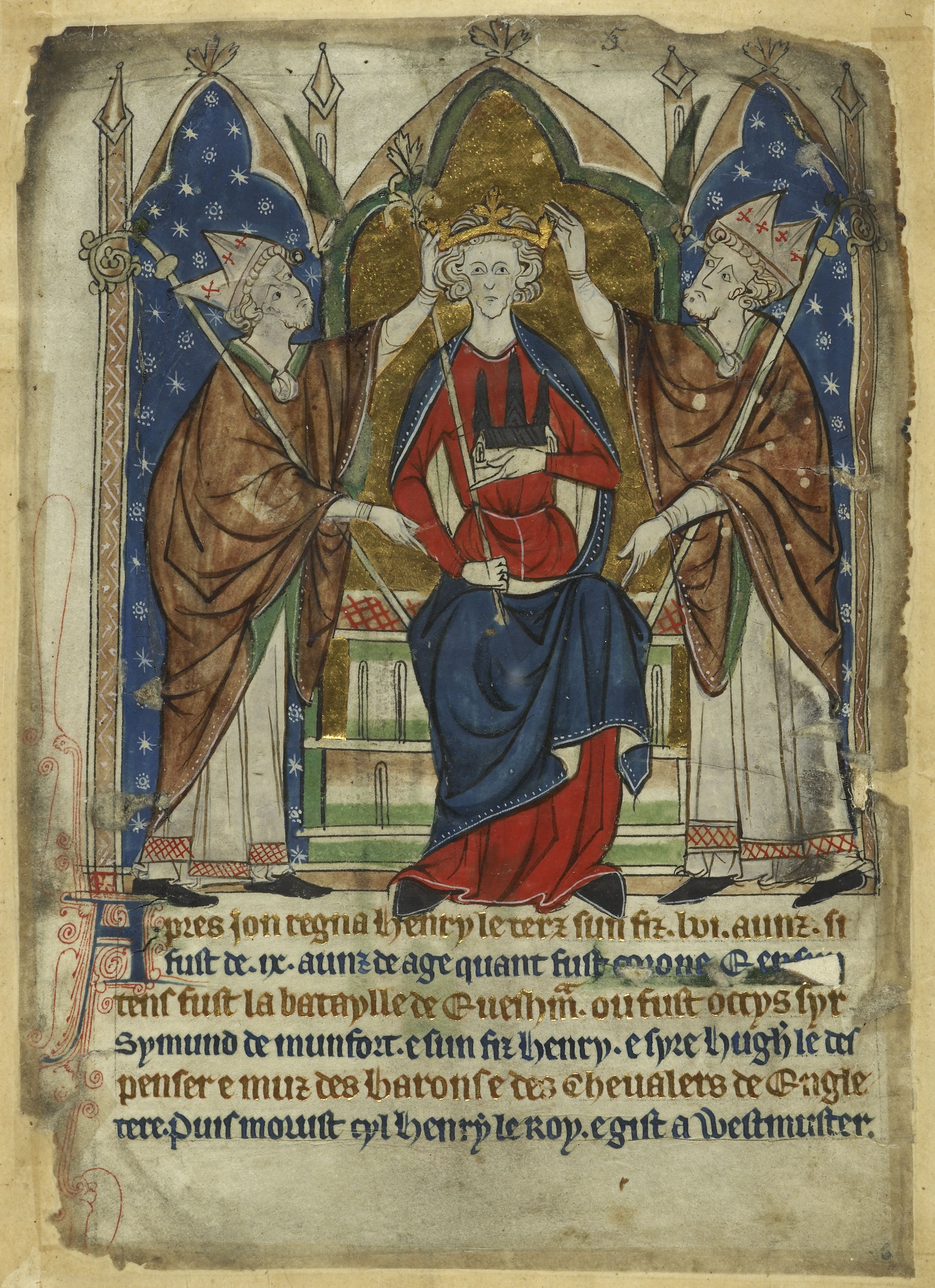 (1 of 2) The poisoning of King John (13th century)