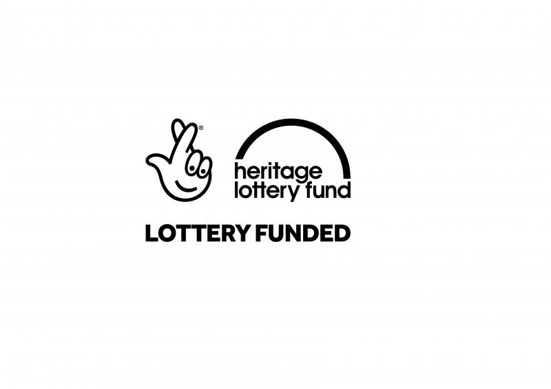 Heritage Lottery Fund logo (black on white background)