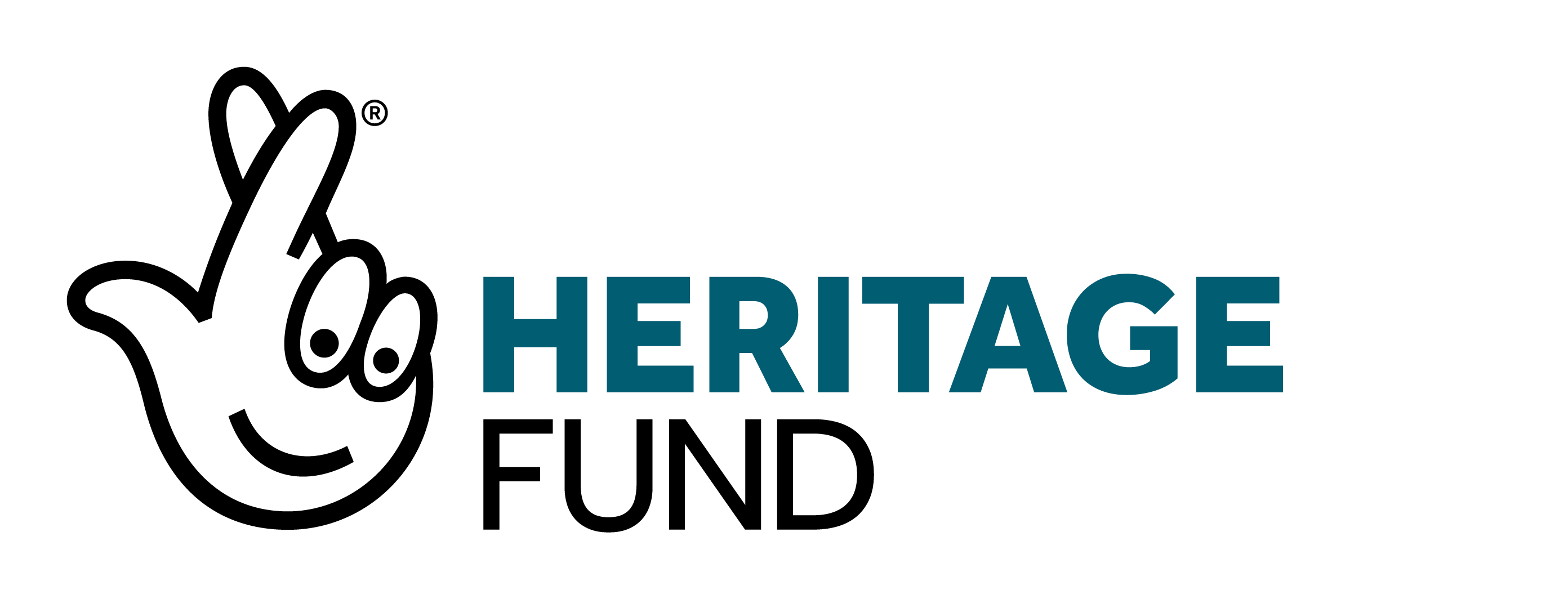 National Lottery Heritage Fund crossed fingers logo