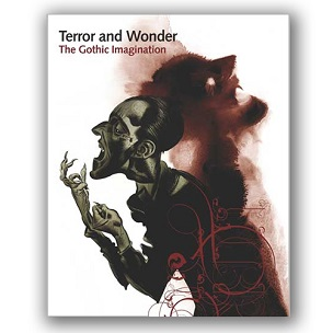 Cover of the Terror and Wonder exhibition book