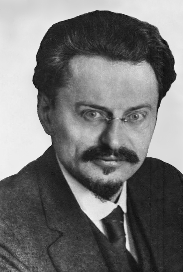 Photograph of Trotsky, ca. 1929