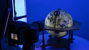 Digitisation of rare globe