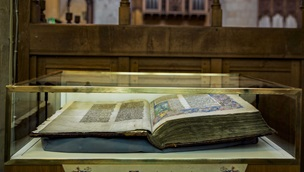 The Malmesbury Bible on Display