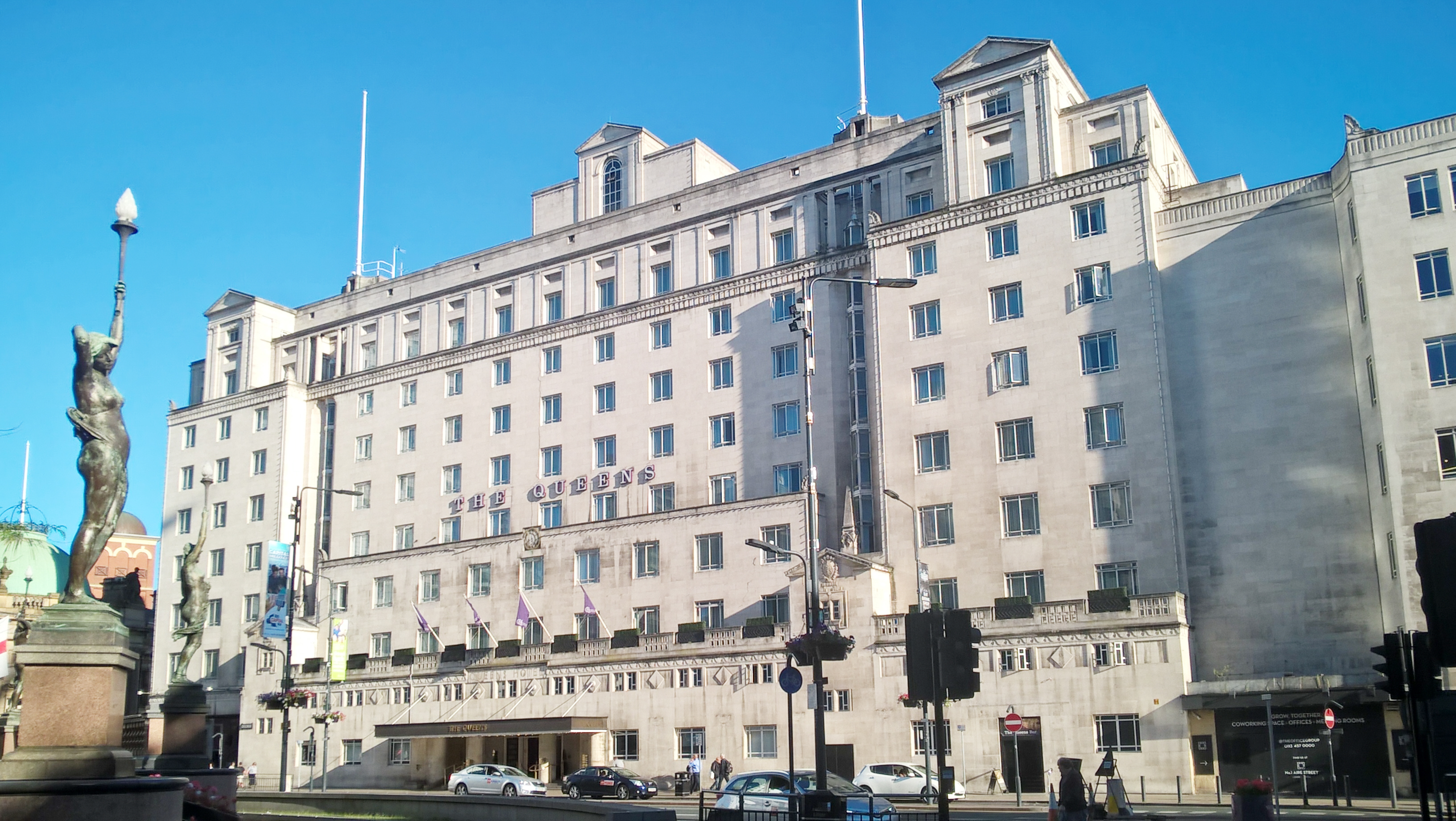 The Queens Hotel in Leeds, the venue for the 2019 ARA Conference