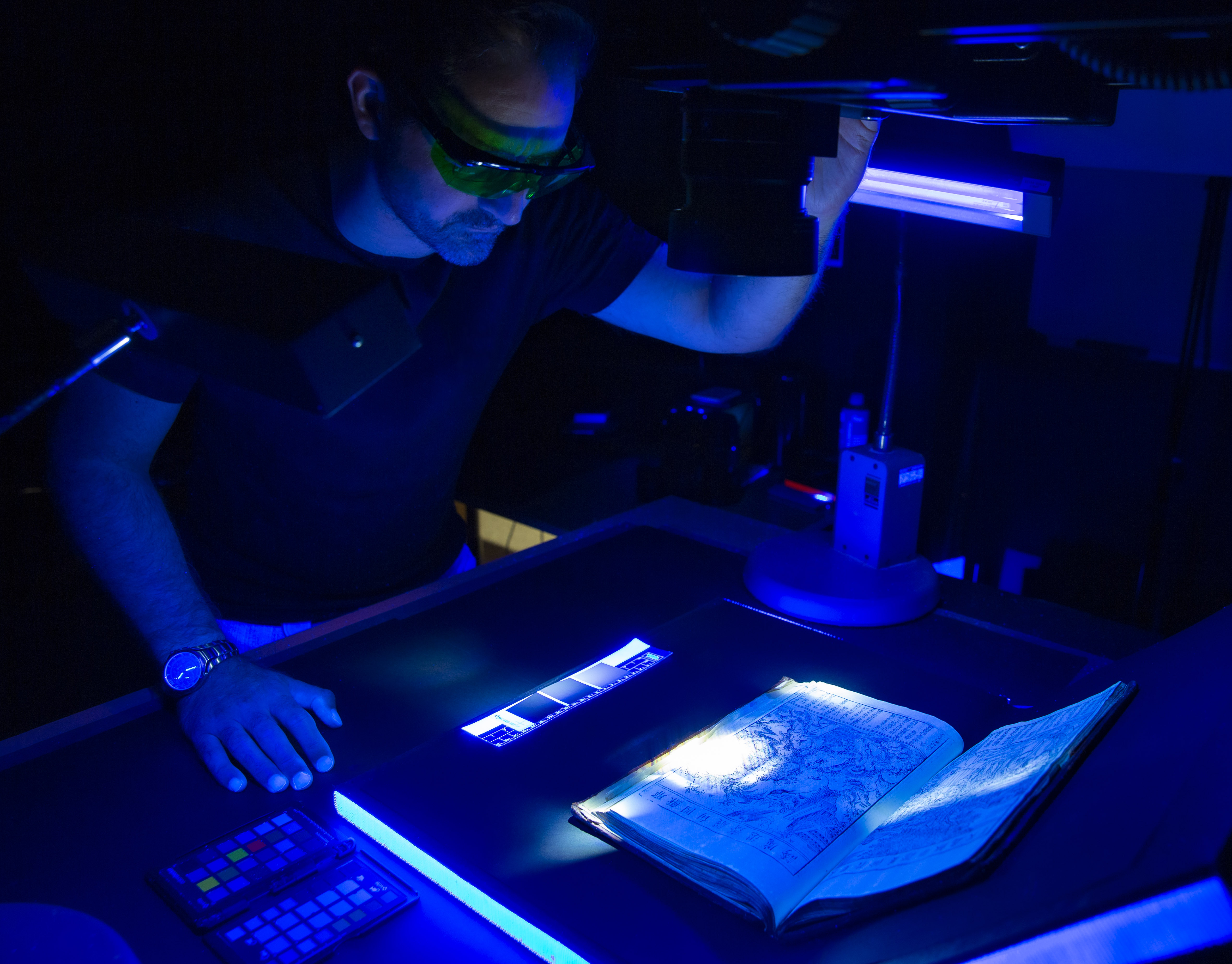 Multispectral imaging in action