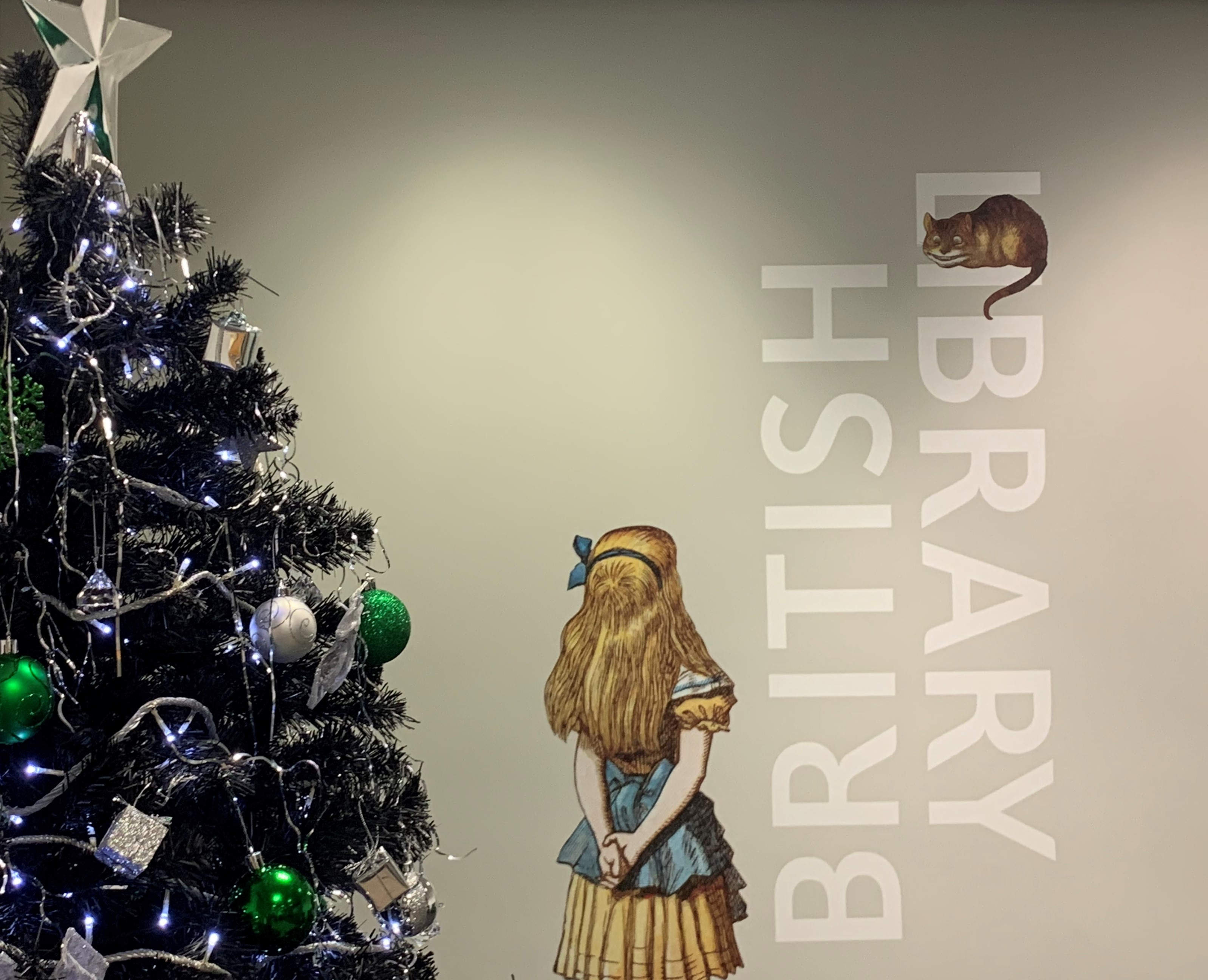 British Library Boston Spa Christmas Tree