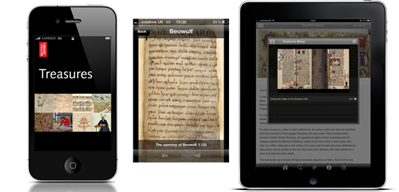 British Library Treasures app