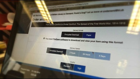 British Library On Demand has made progress towards Digital Rights Management without plugins