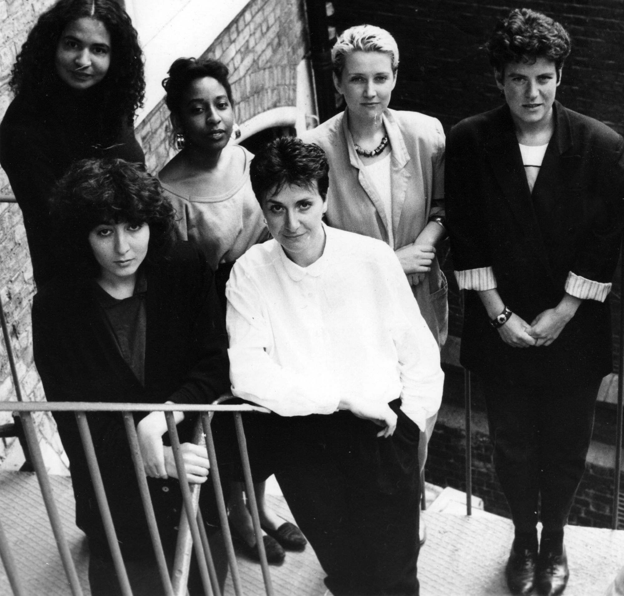 Spare Rib magazine collective circa 1986