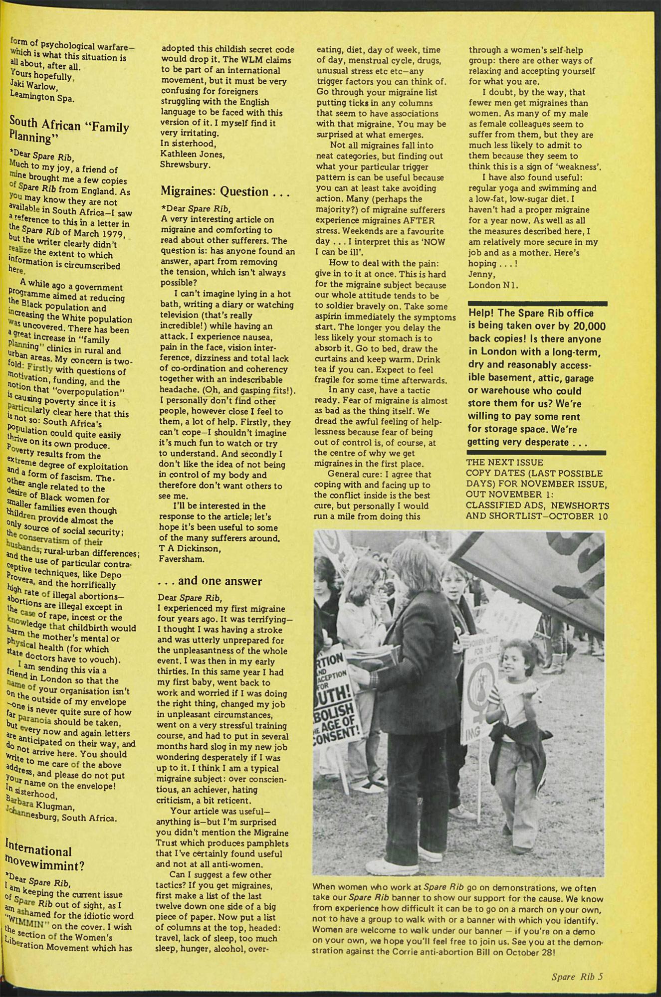 Spare Rib magazine issue 87 p. 5