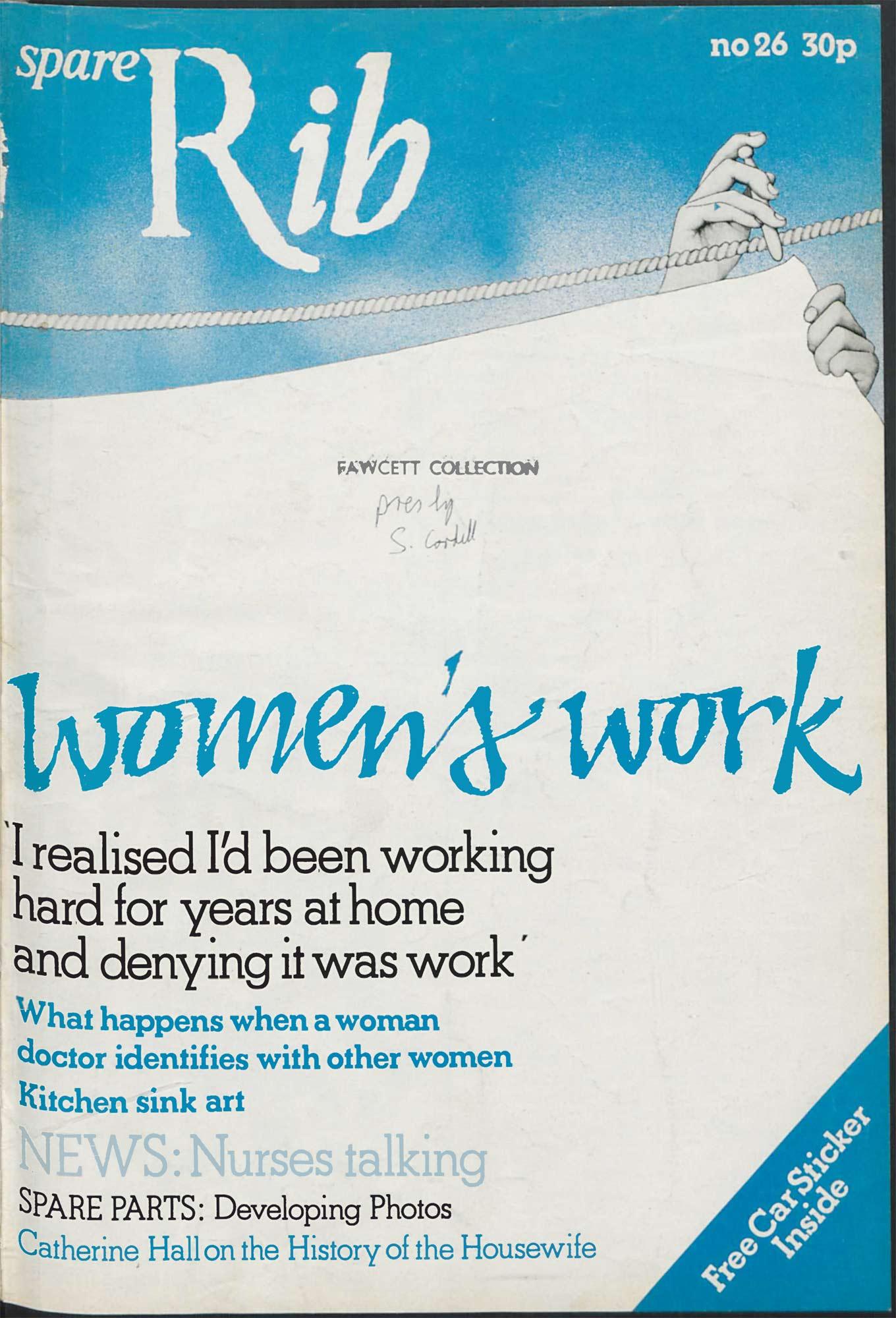 Spare Rib magazine issue 26 p. 1