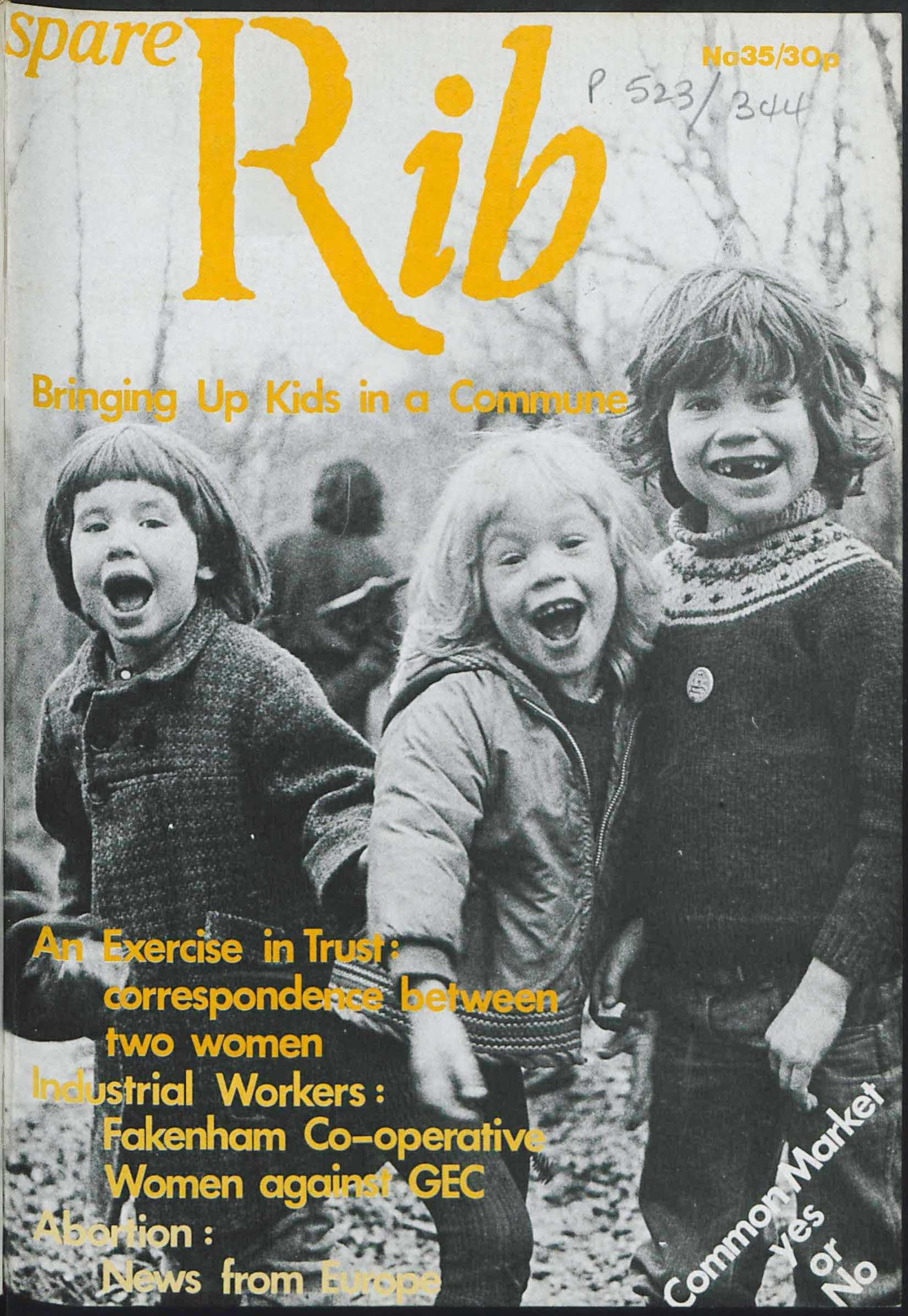 Spare Rib magazine issue 35 p. 1