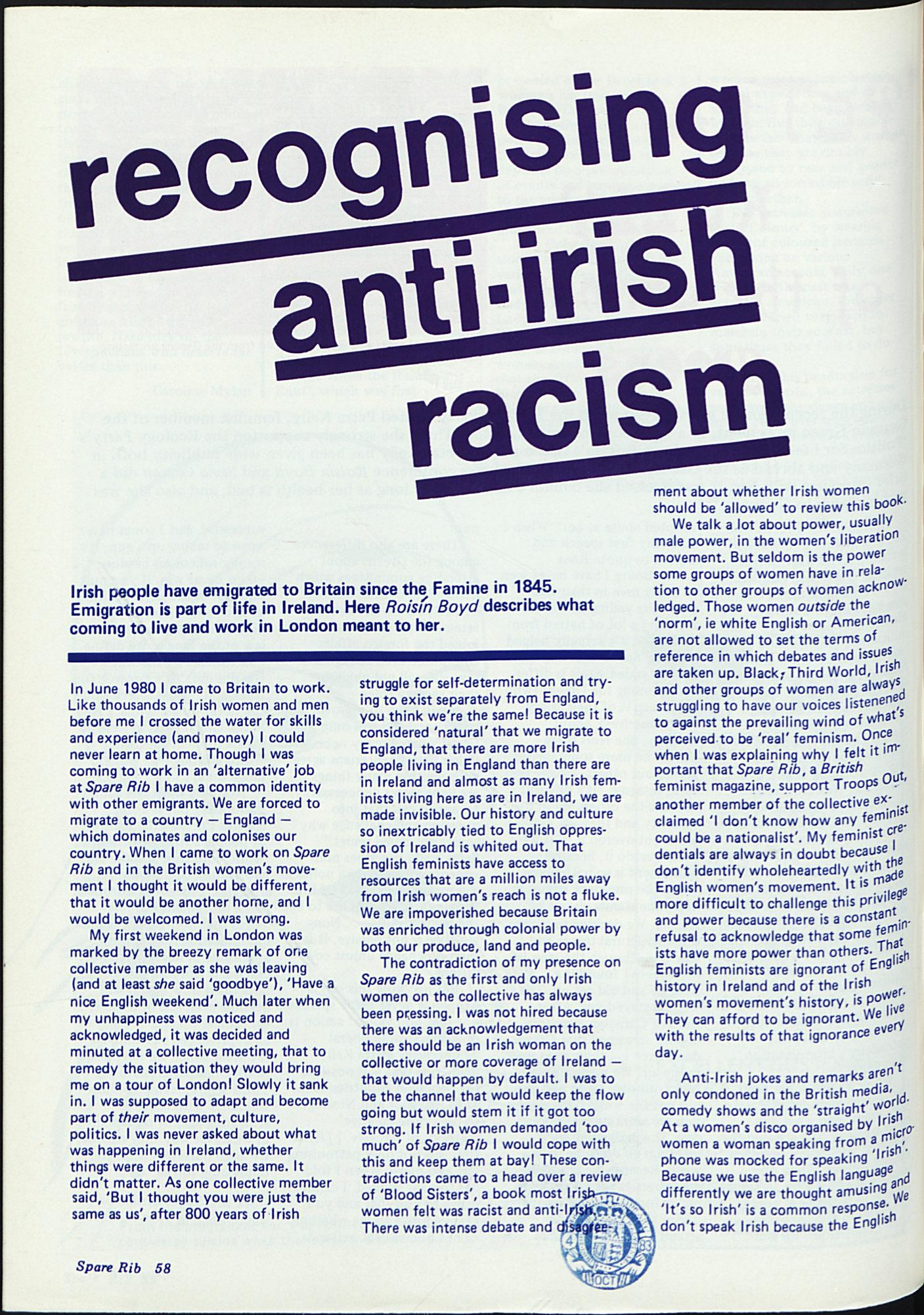 Spare Rib magazine issue 133 p. 58