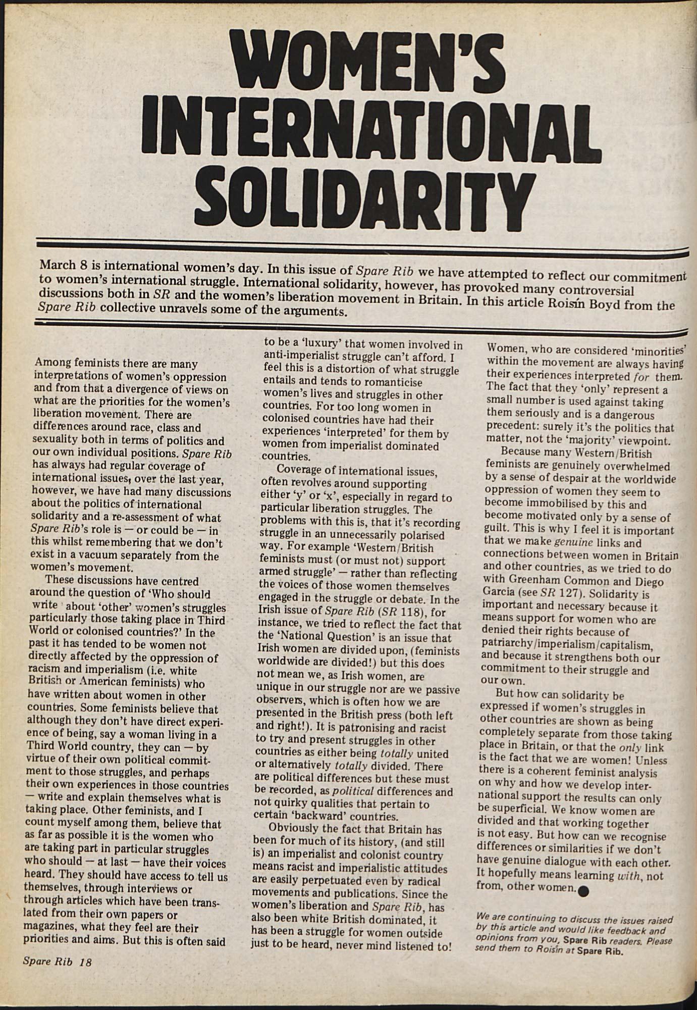Spare Rib magazine issue 18 p. 18