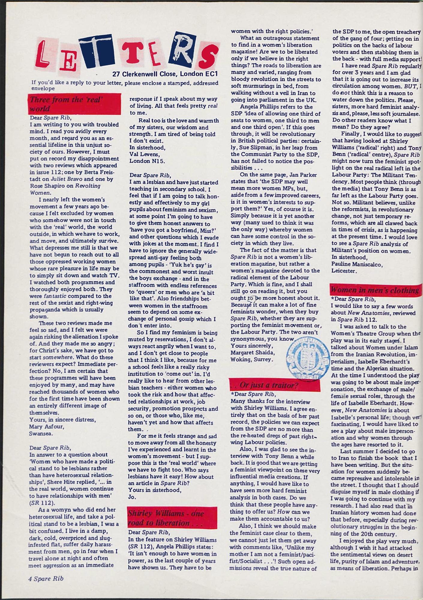 Spare Rib magazine issue 114 p. 4