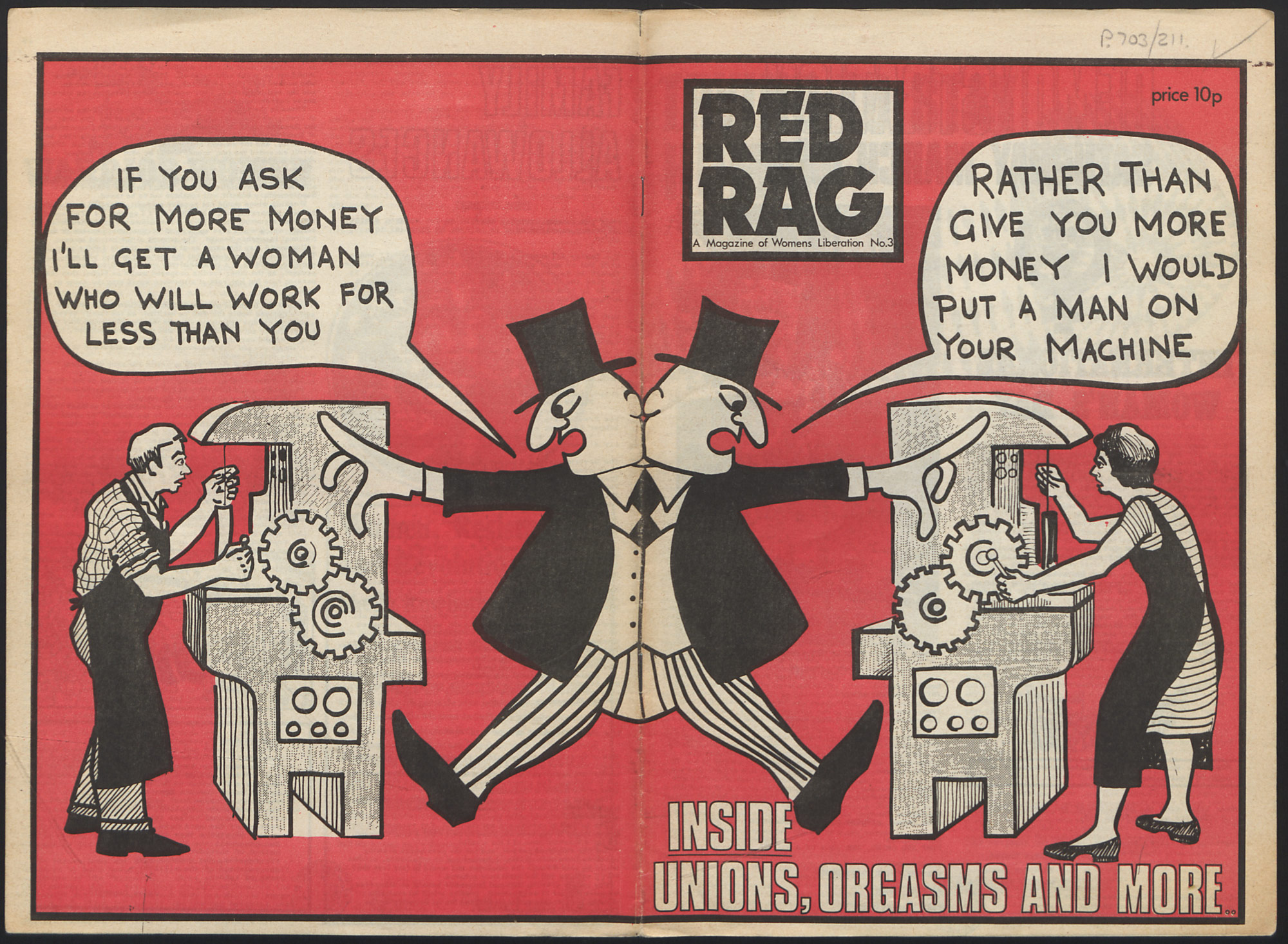 Red Rag magazine 1973