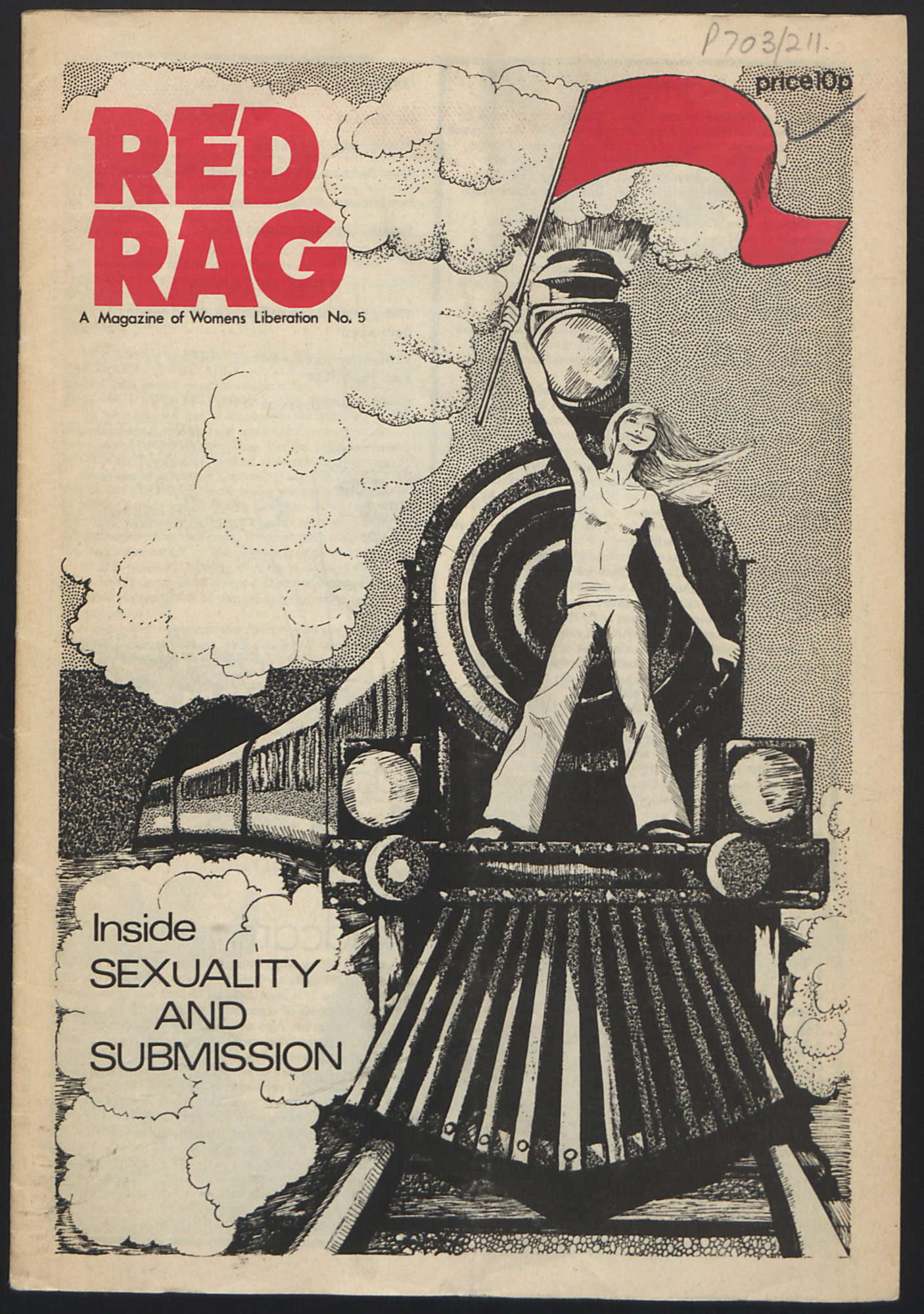 Red Rag magazine 1973 issue 5