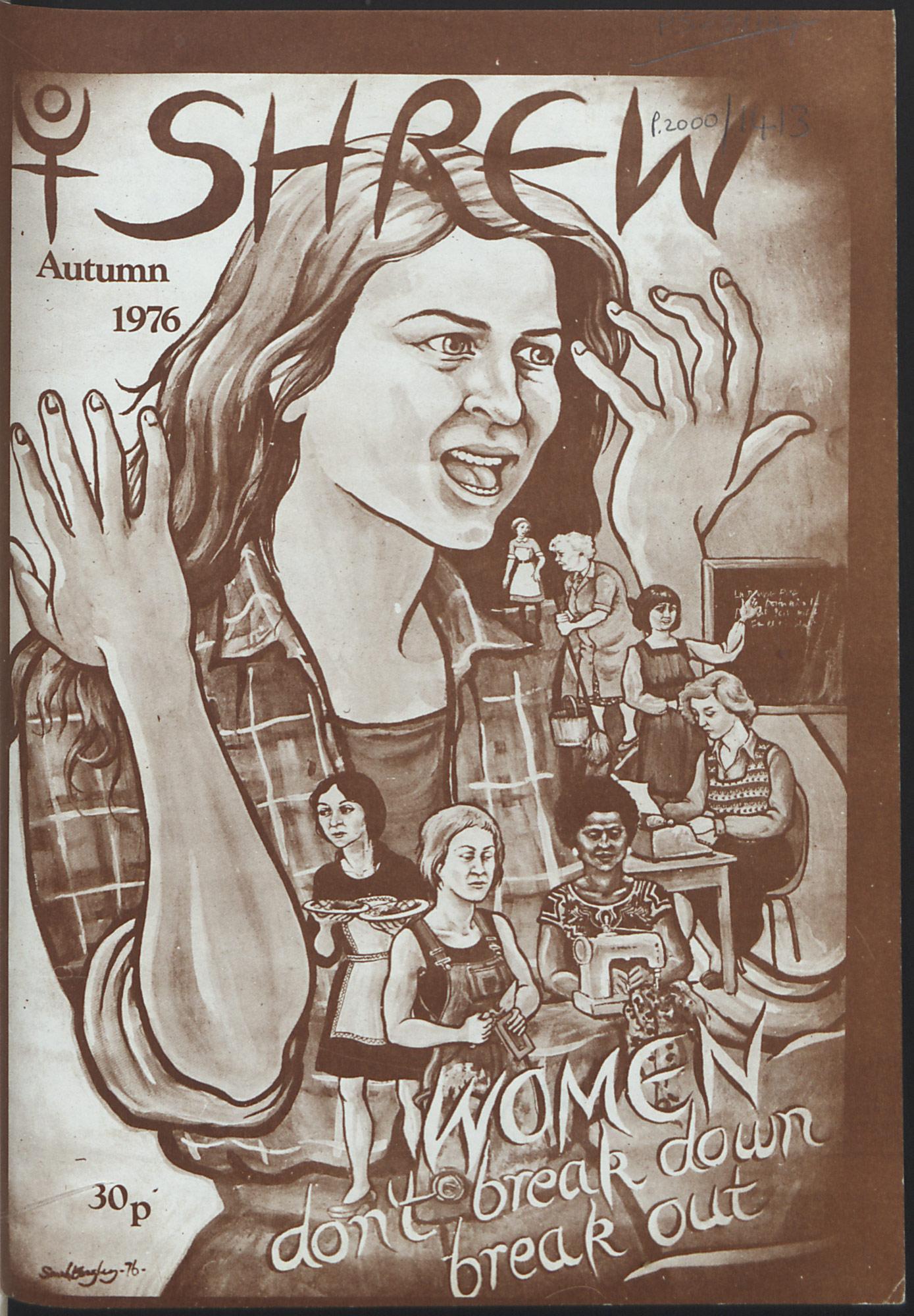Shrew magazine 1976
