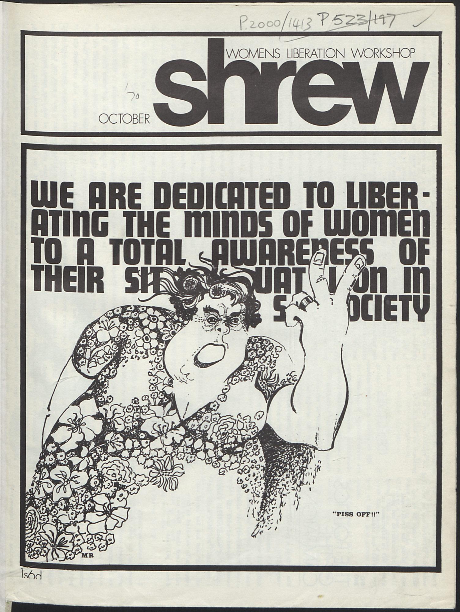 Shrew magazine 1970