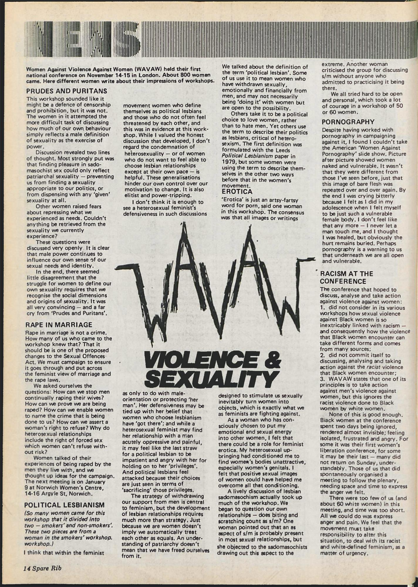 Spare Rib magazine issue 114 p. 14