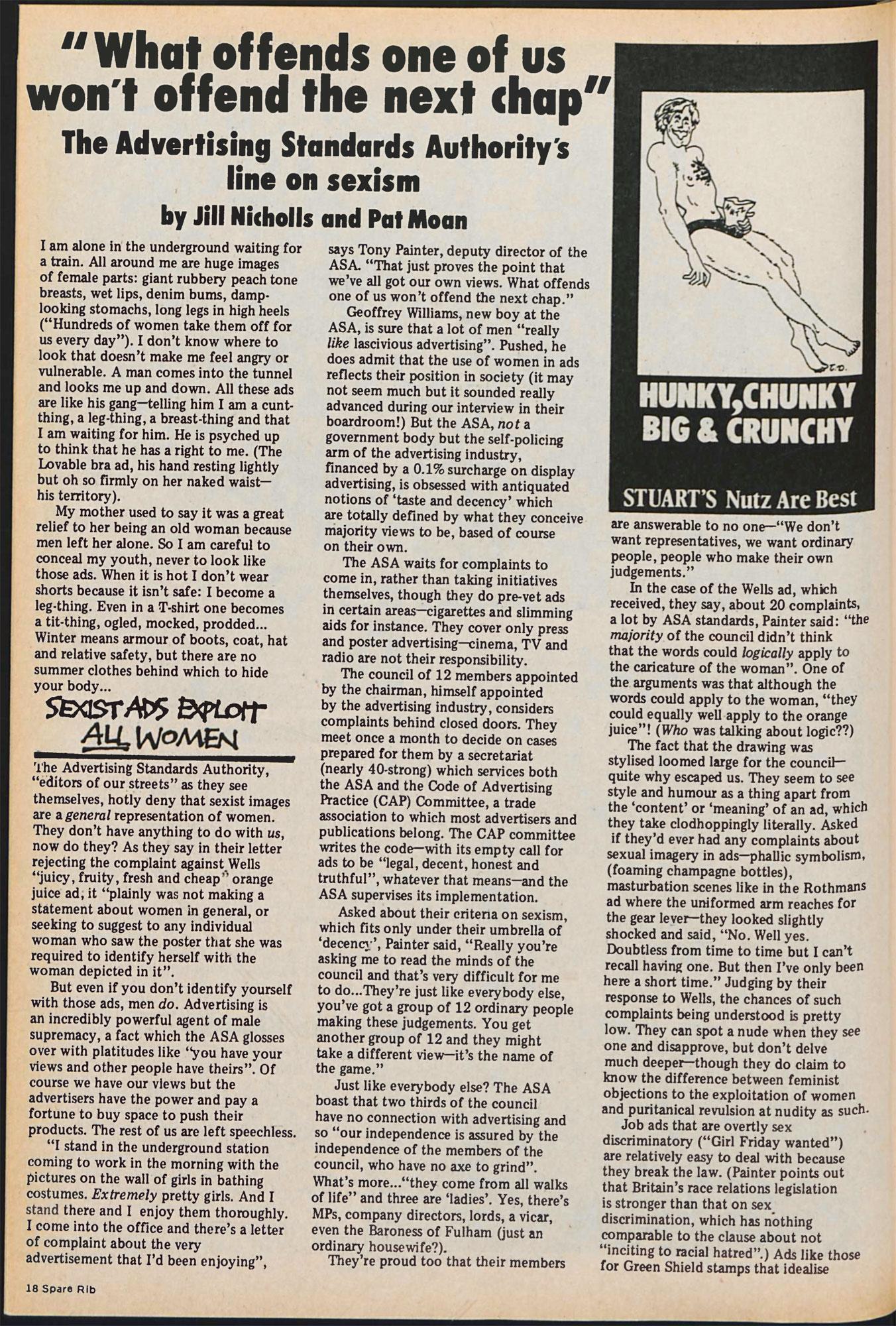 Spare Rib magazine issue 72 p. 18