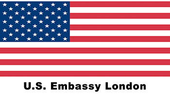 US Embassy London logo