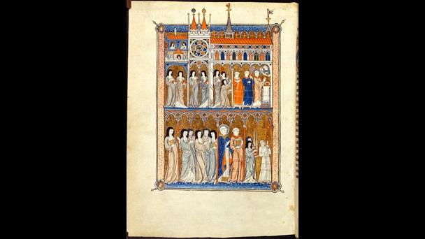 Image of Cistercian nuns