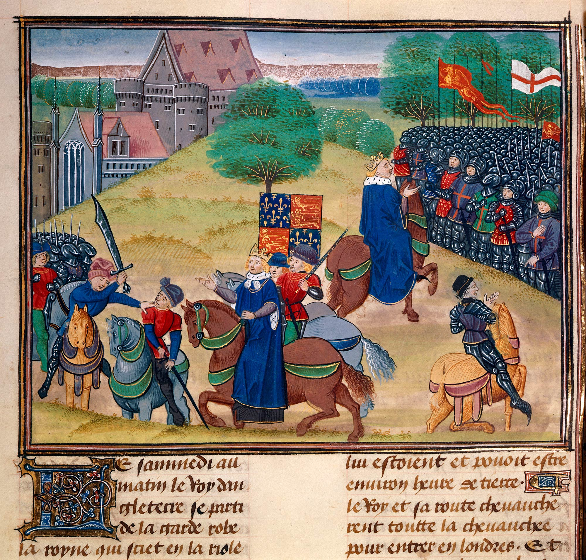 The death of Wat Tyler